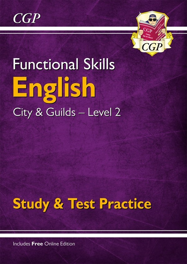 Z2007B6598 - tbc Functional Skills English Level 2 for City & Guilds —  Study & Test Practice