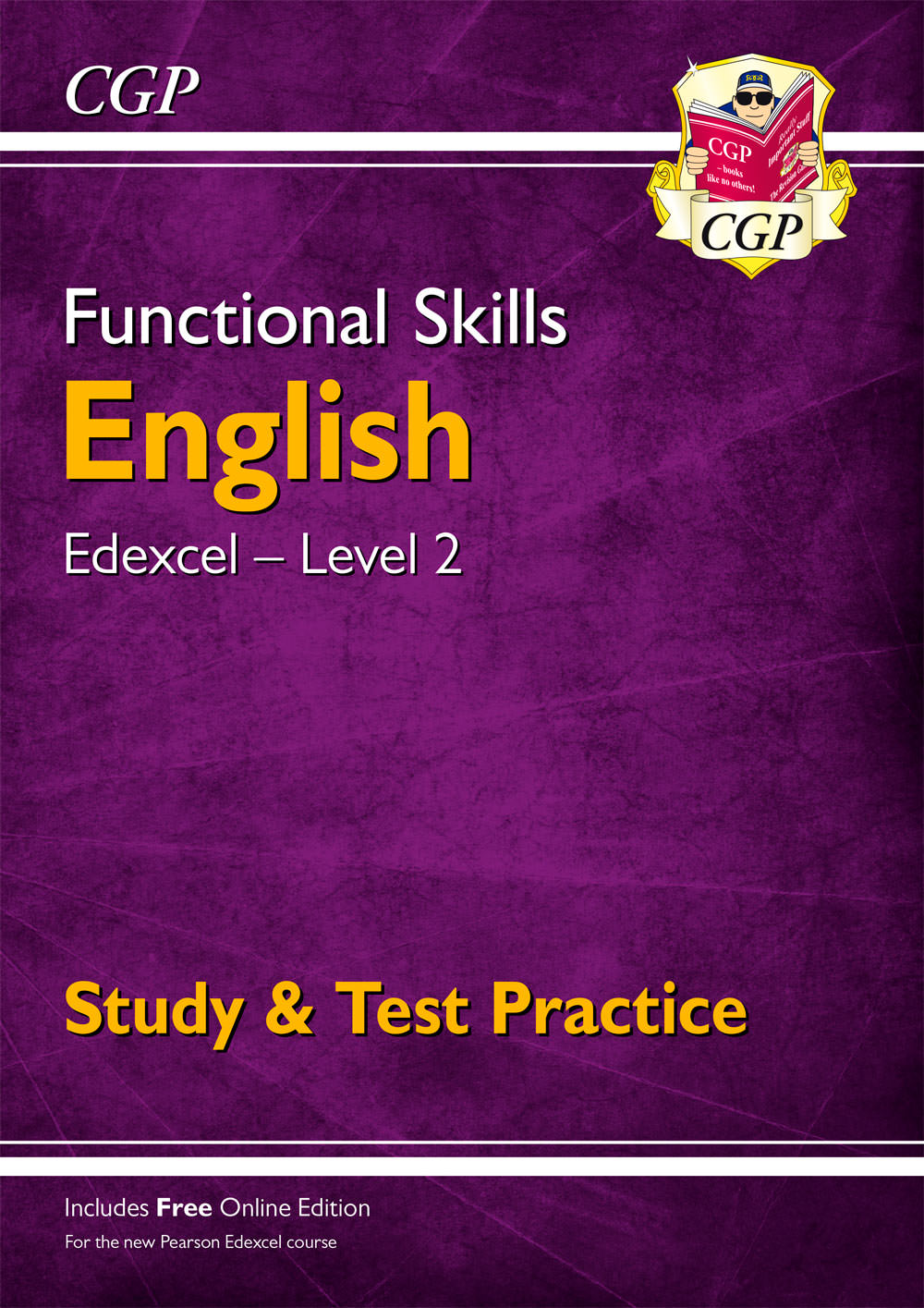 E2ESRA1 - Functional Skills English: Edexcel Level 2 - Study & Test Practice (for 2021 & beyond)