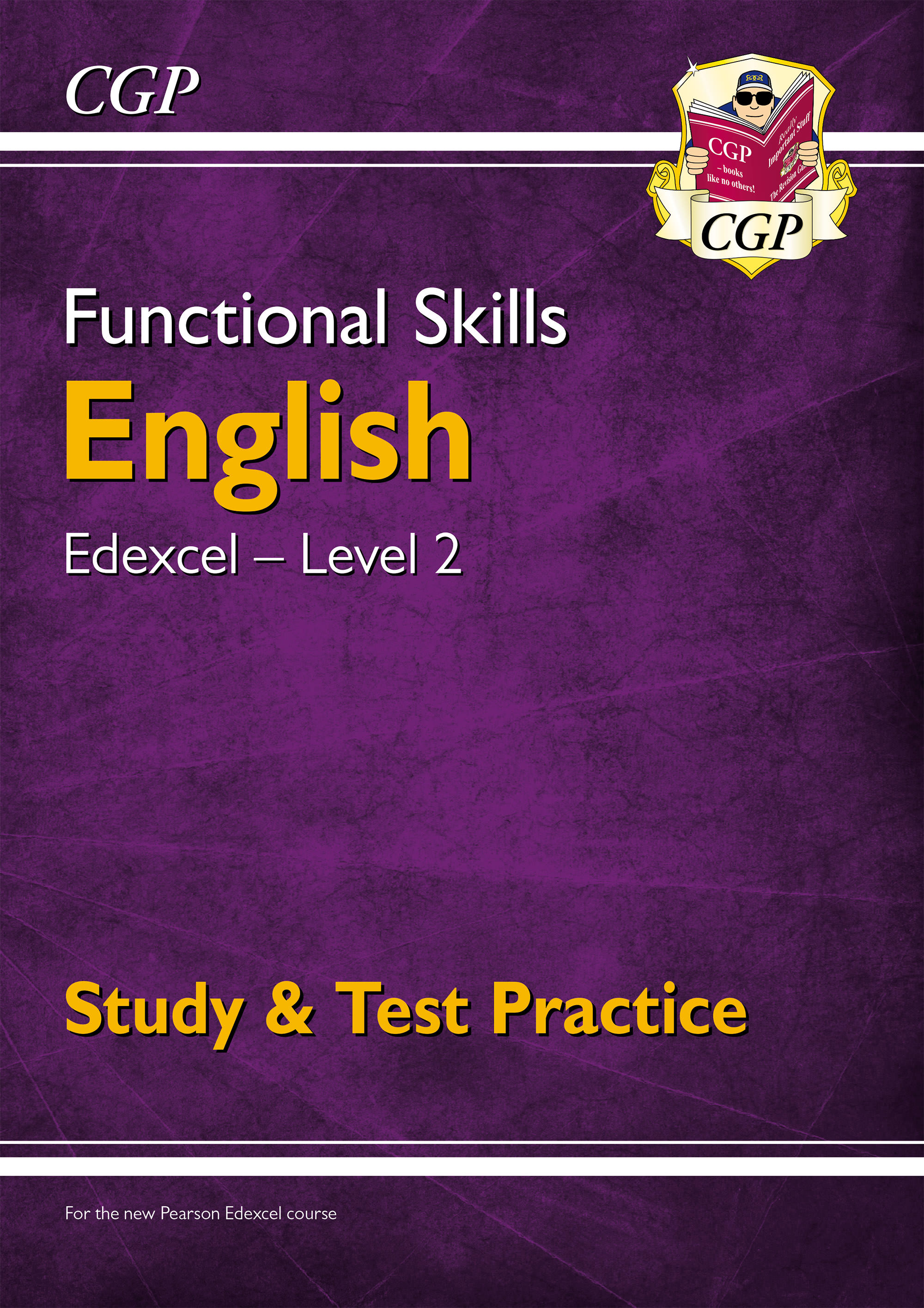 E2ESRA1DK - Functional Skills English: Edexcel Level 2 - Study & Test Practice (for 2021 & beyond)