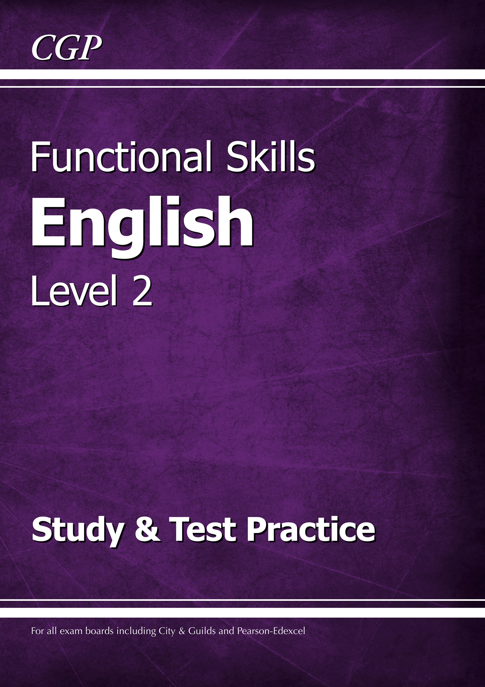 E2SRA2 - Functional Skills English Level 2 - Study & Test Practice