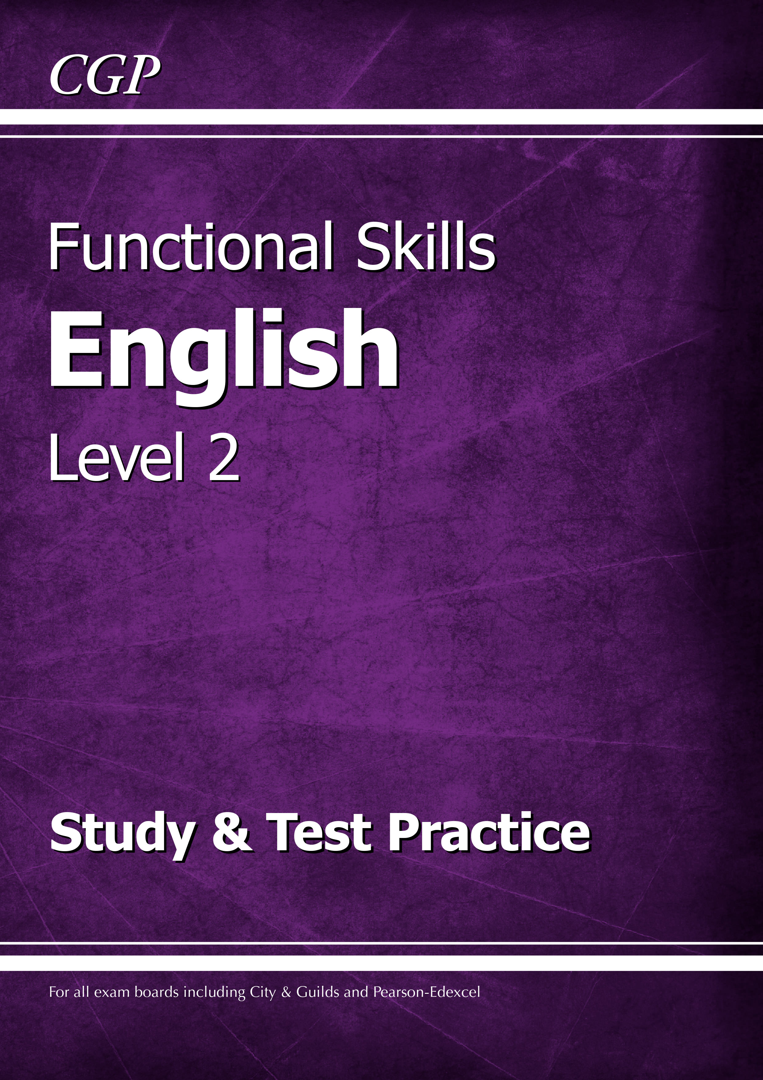 E2SRA2DK - Functional Skills English Level 2 - Study & Test Practice