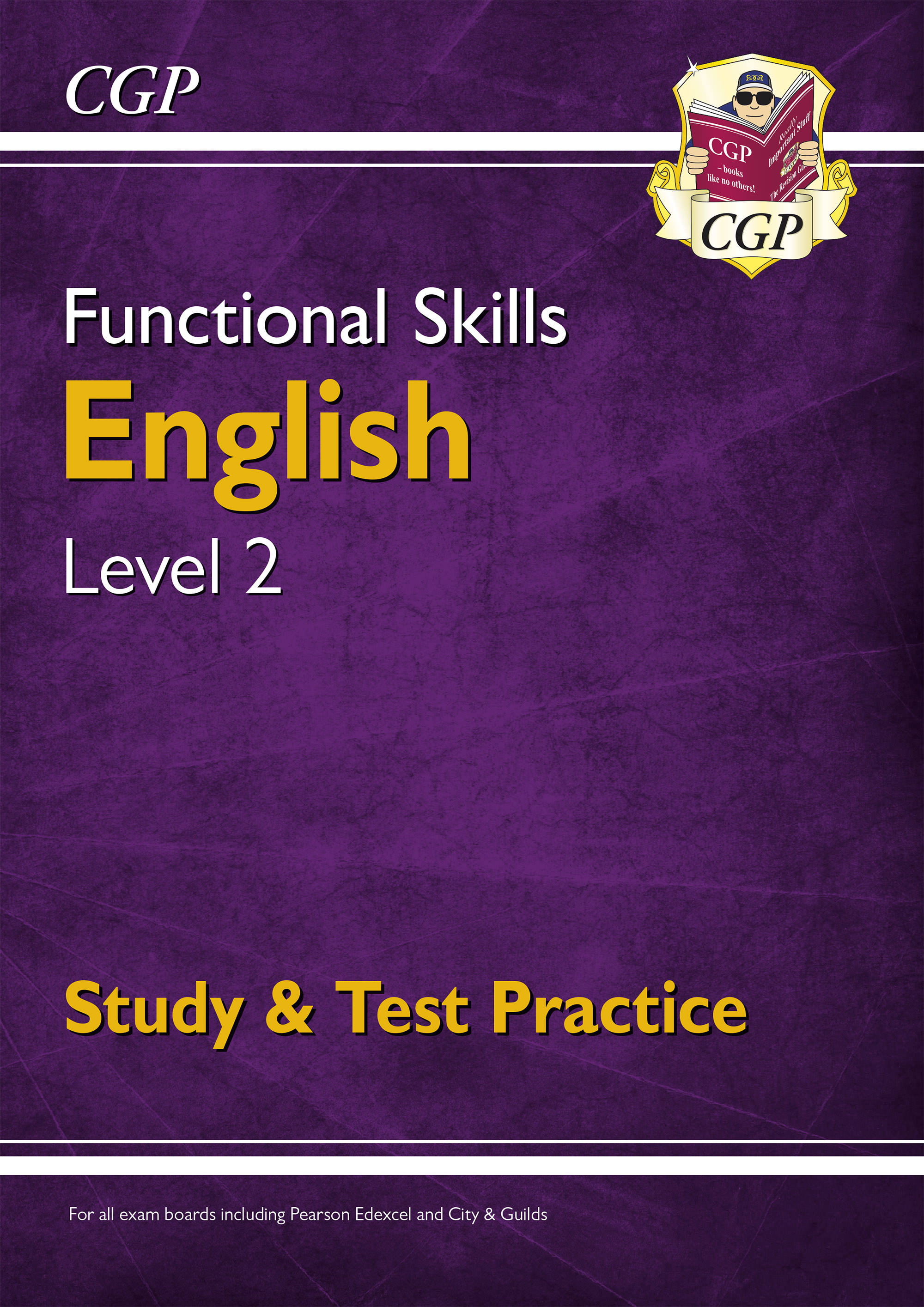 E2SRA3DK - Functional Skills English Level 2 - Study & Test Practice (for 2021 & beyond)