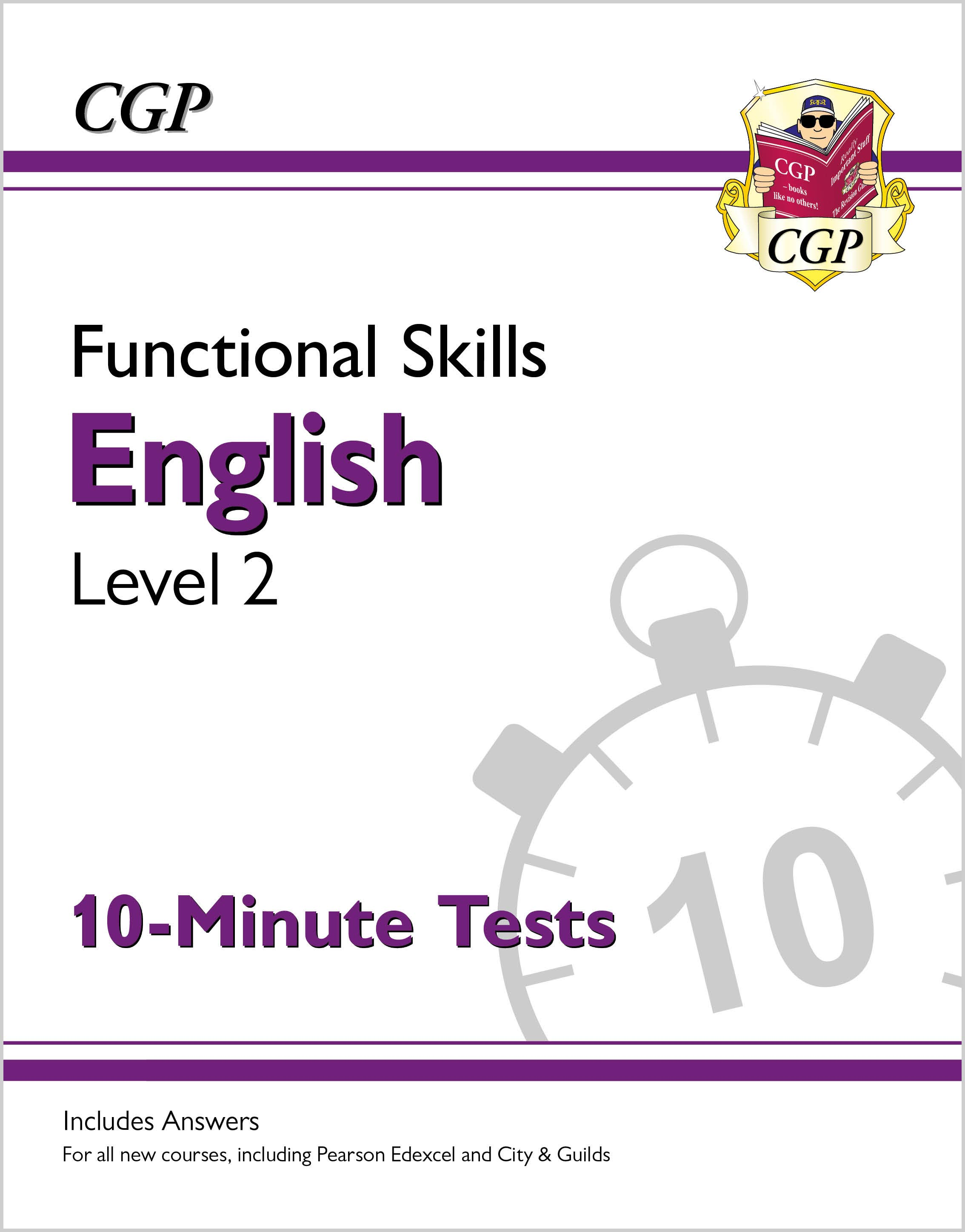 E2XPA1 - New Functional Skills English Level 2 - 10 Minute Tests (for 2020 & beyond)