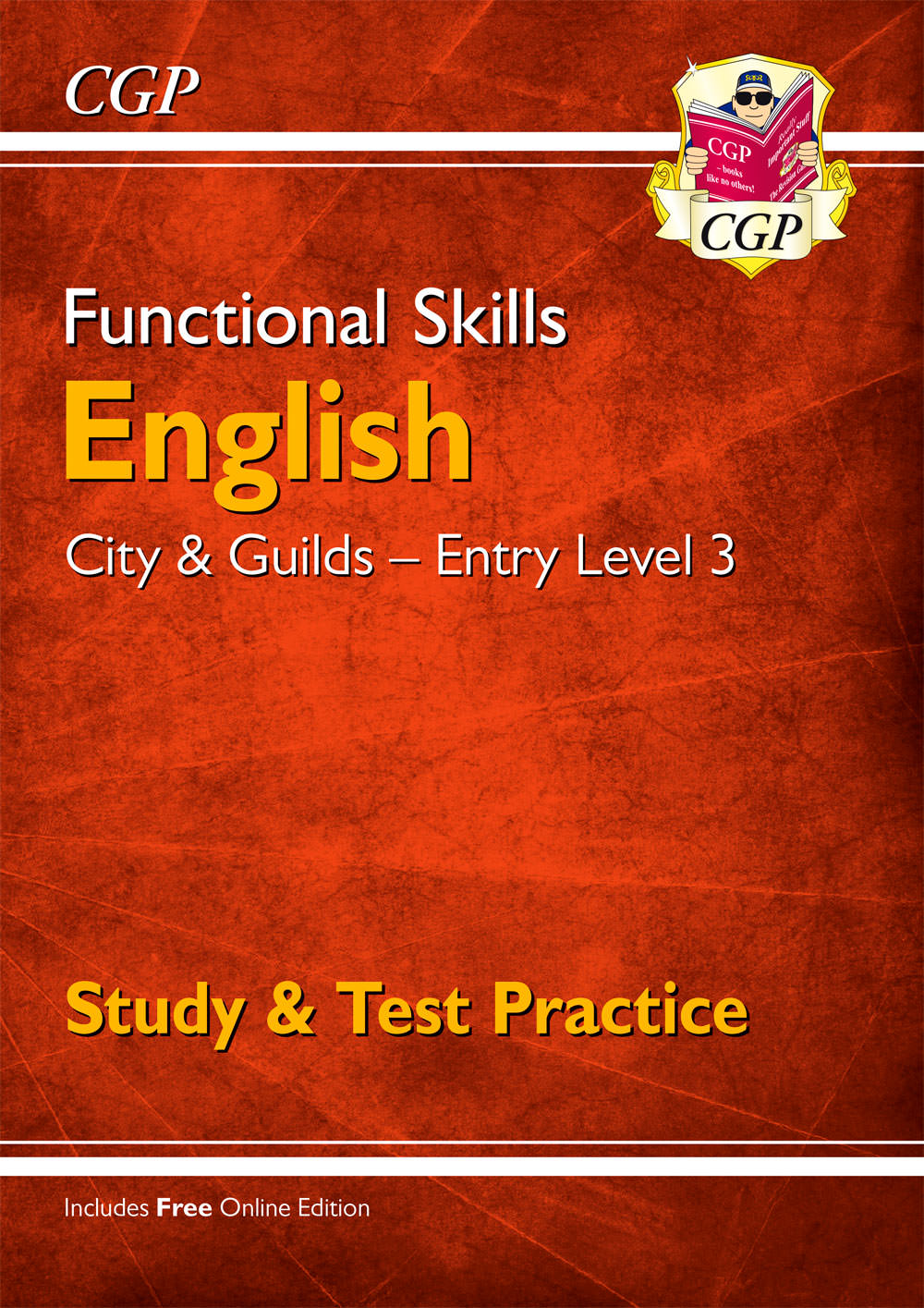 E3CGSRA1 - Functional Skills English: City & Guilds Entry Level 3 - Study & Test Practice for 2021 &