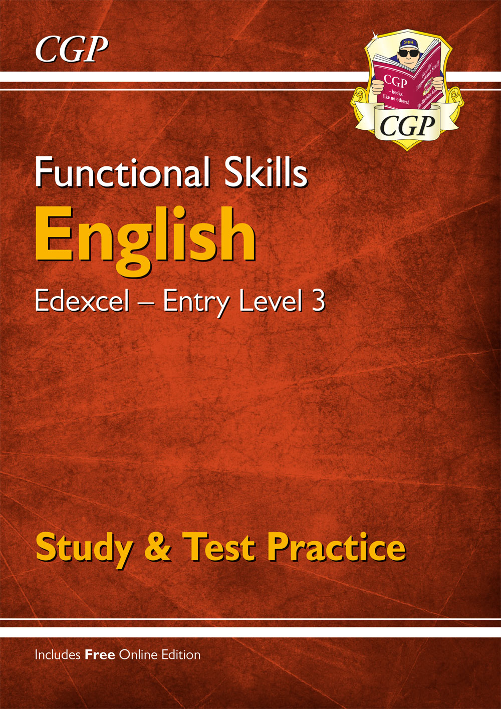 E3ESRA1 - Functional Skills English: Edexcel Entry Level 3 - Study & Test Practice (for 2021 & beyon
