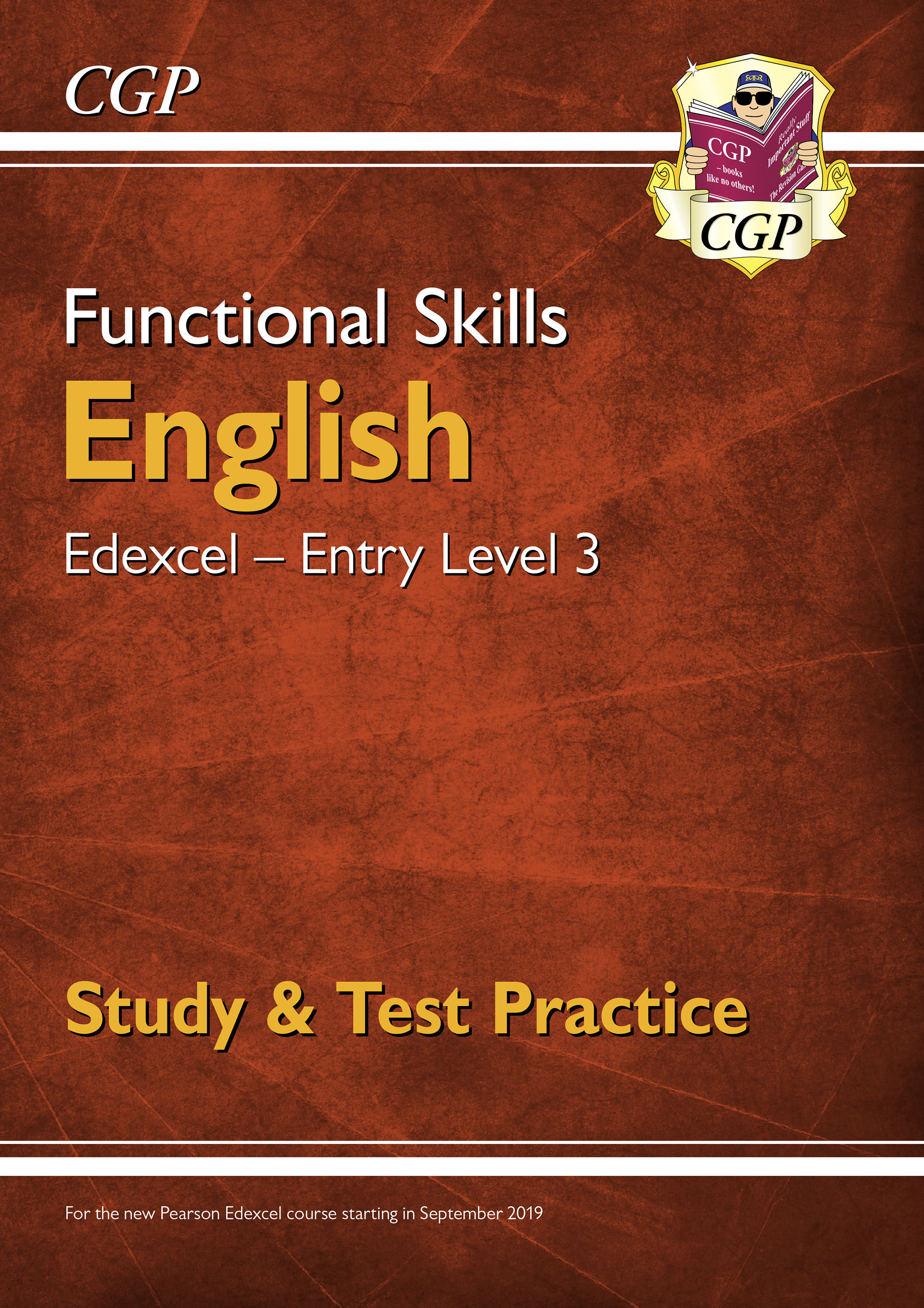 E3ESRA1DK - Functional Skills English: Edexcel Entry Level 3 - Study & Test Practice (for 2021 & bey