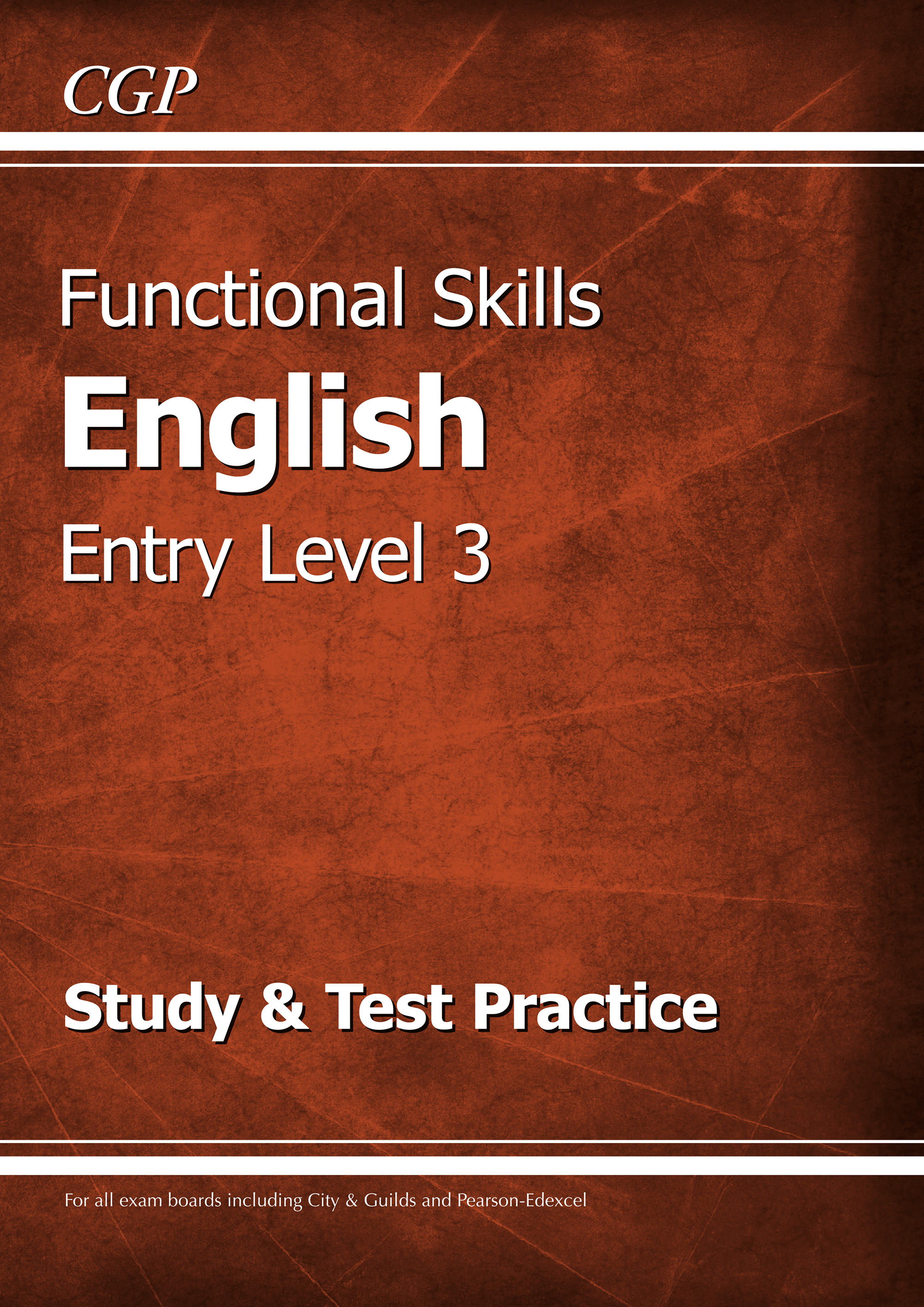 E3SRA2 - Functional Skills English Entry Level 3 - Study & Test Practice