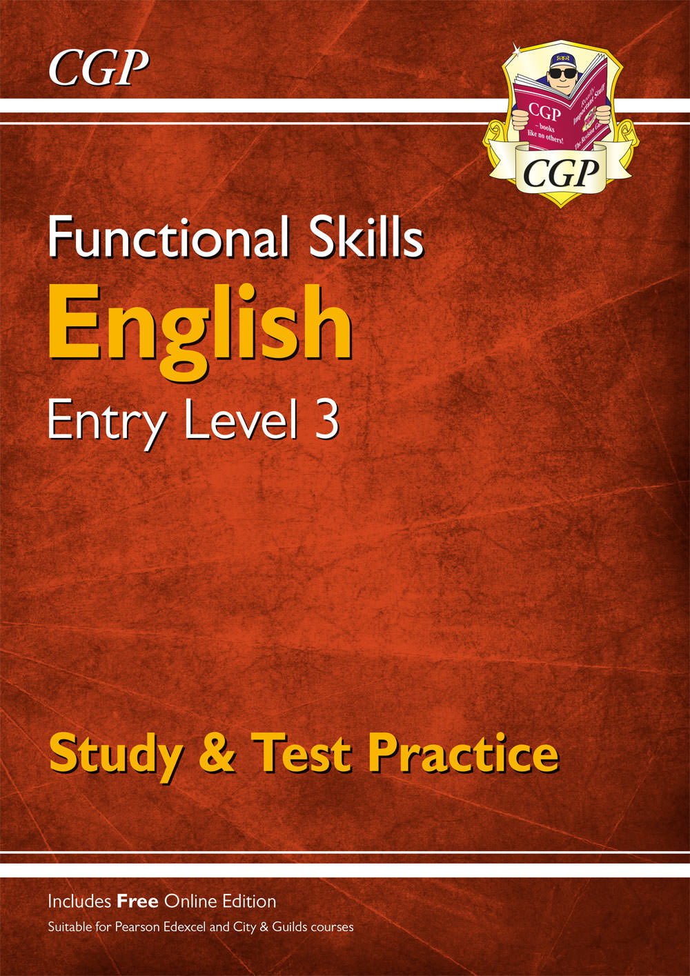 E3SRA3 - New Functional Skills English Entry Level 3 - Study & Test Practice (for 2020 & beyond)