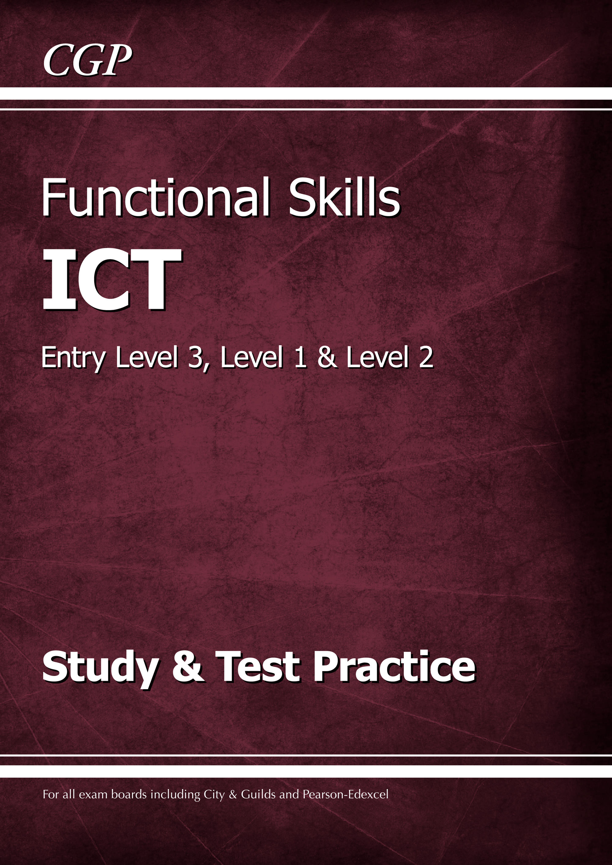 ISRA2 - Functional Skills ICT - Entry Level 3, Level 1 and Level 2 - Study & Test Practice
