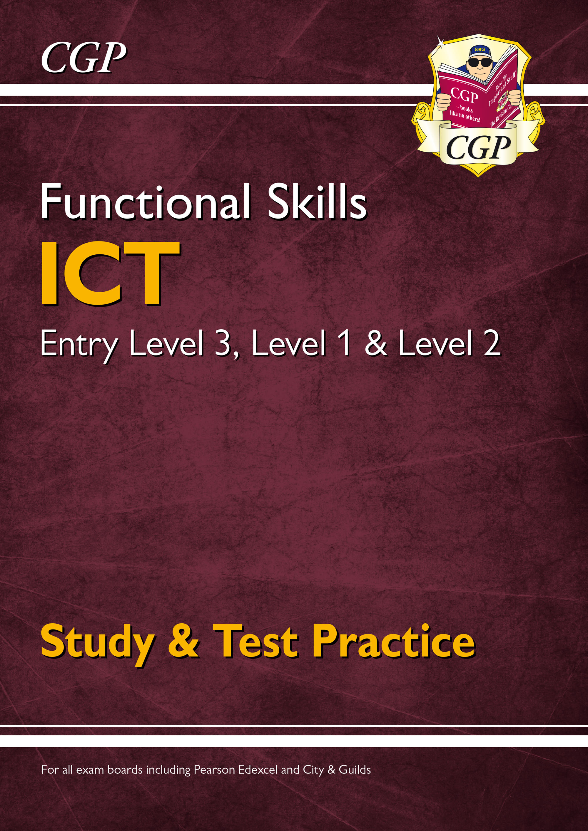 ISRA3 - New Functional Skills ICT: Entry Level 3, Level 1 and Level 2 - Study & Test Practice