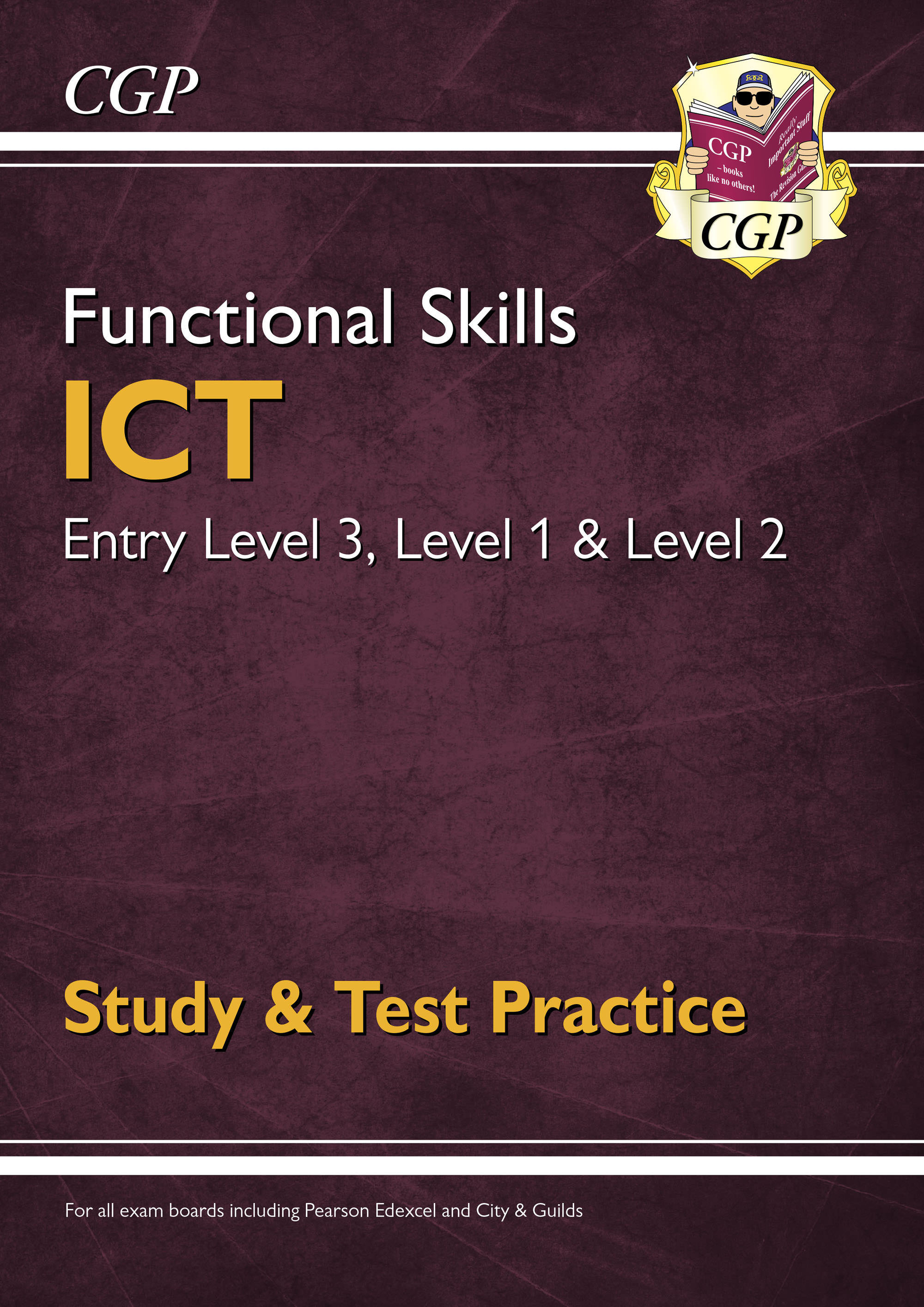 ISRA3DK - New Functional Skills ICT: Entry Level 3, Level 1 and Level 2 - Study & Test Practice