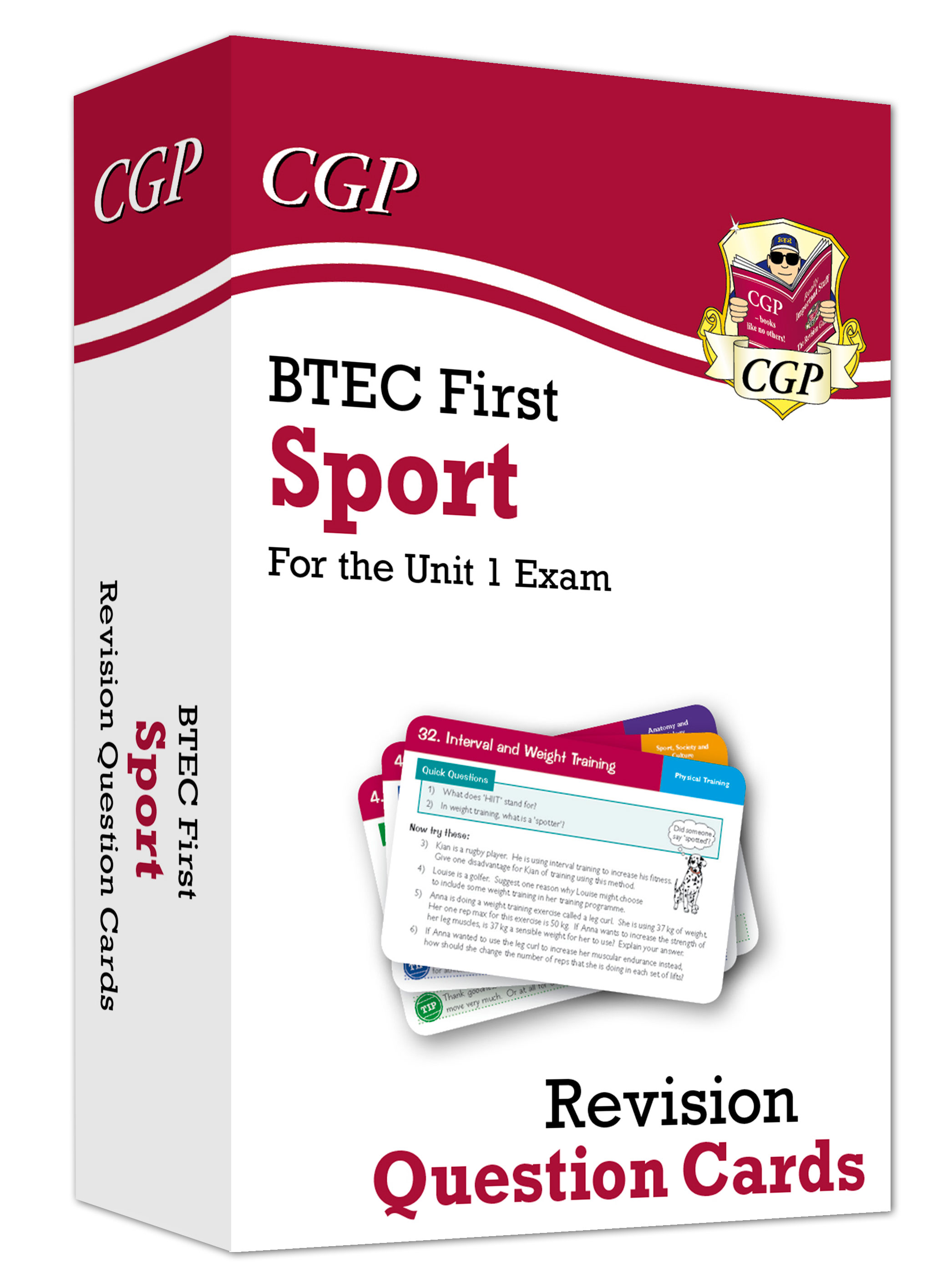 JEFB1 - New BTEC First in Sport: Revision Question Cards