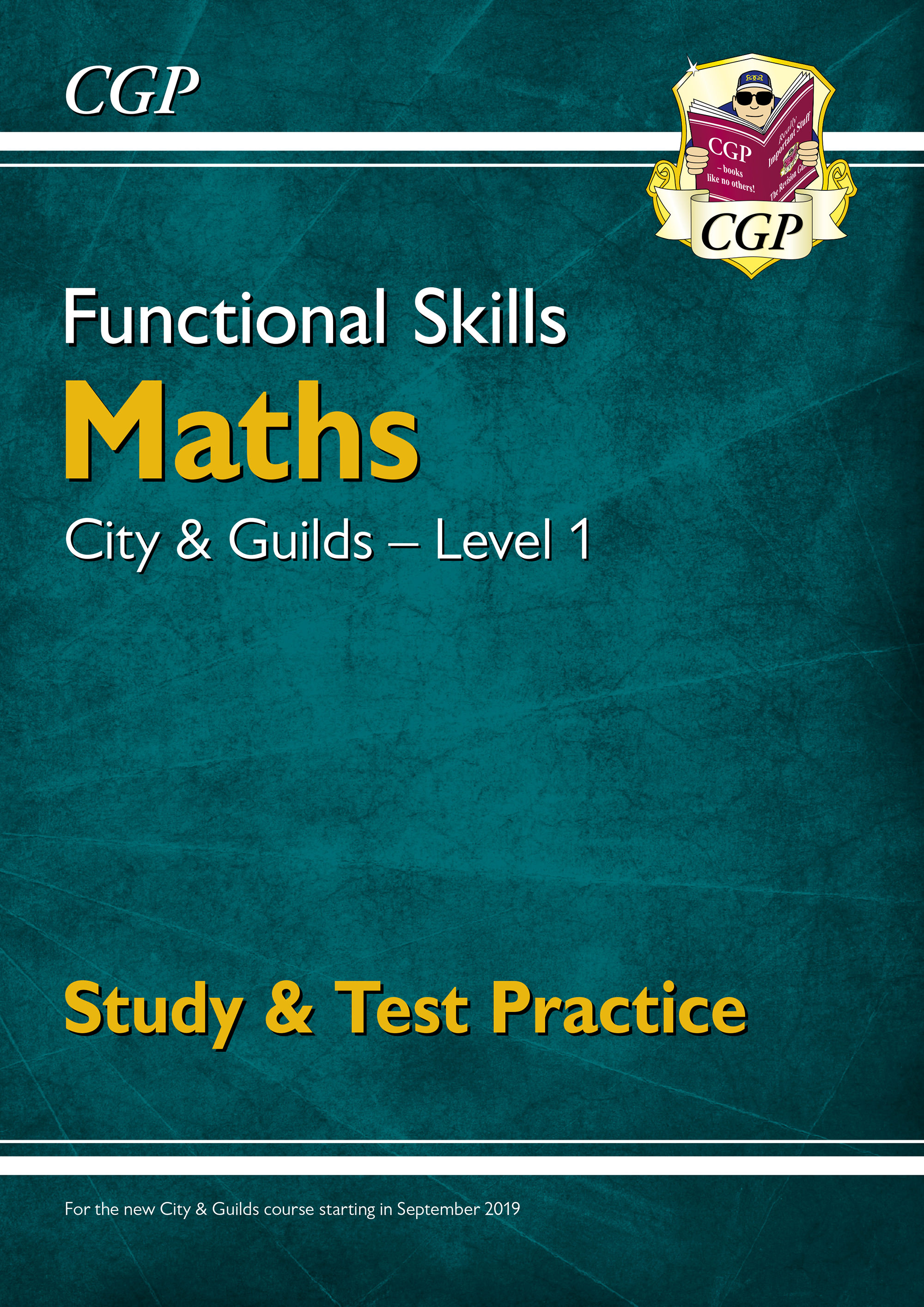 M1CGSRA1DK - New Functional Skills Maths: City & Guilds Level 1 - Study & Test Practice (for 2020 &