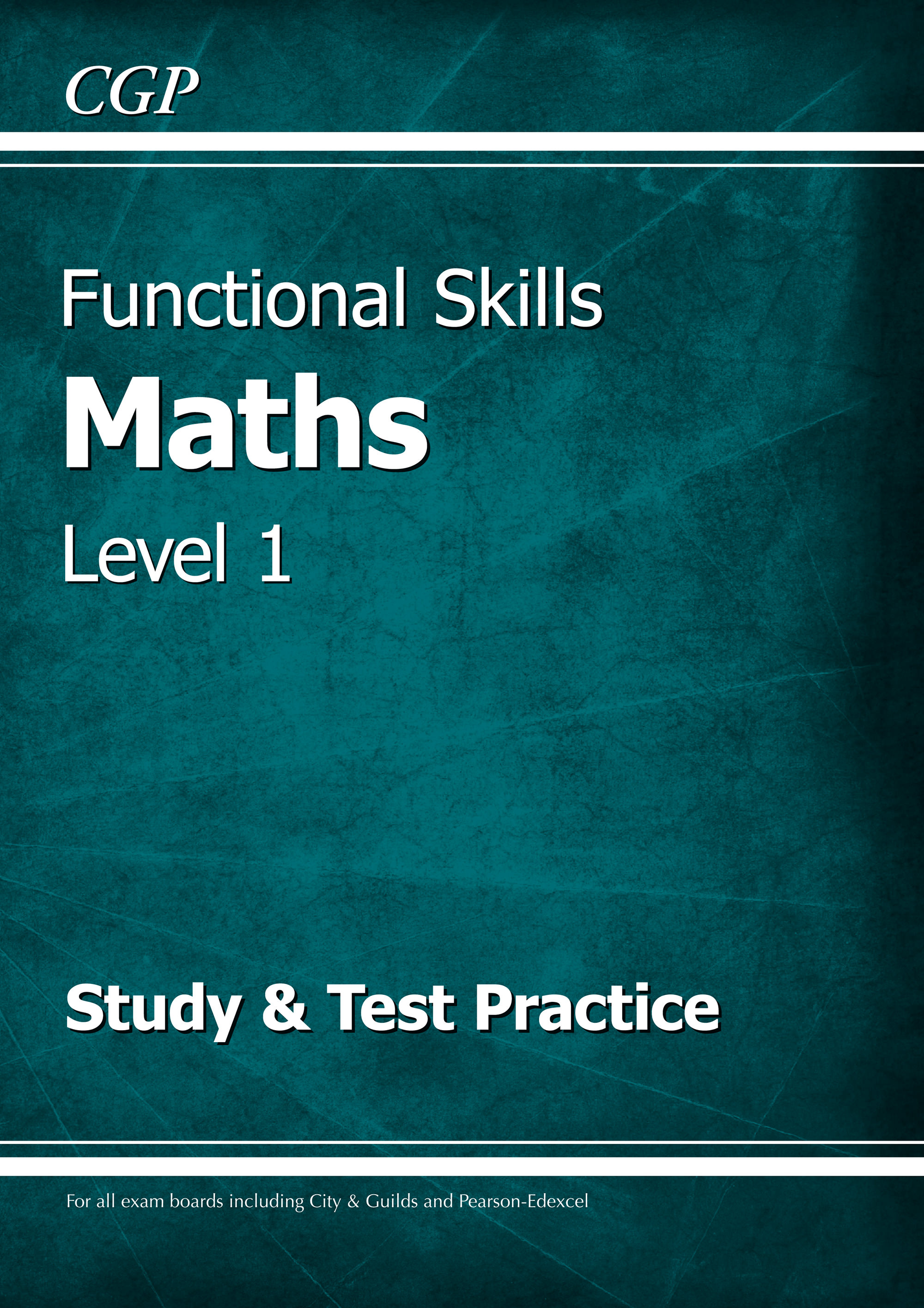 M1SRA2 - Functional Skills Maths Level 1 - Study & Test Practice