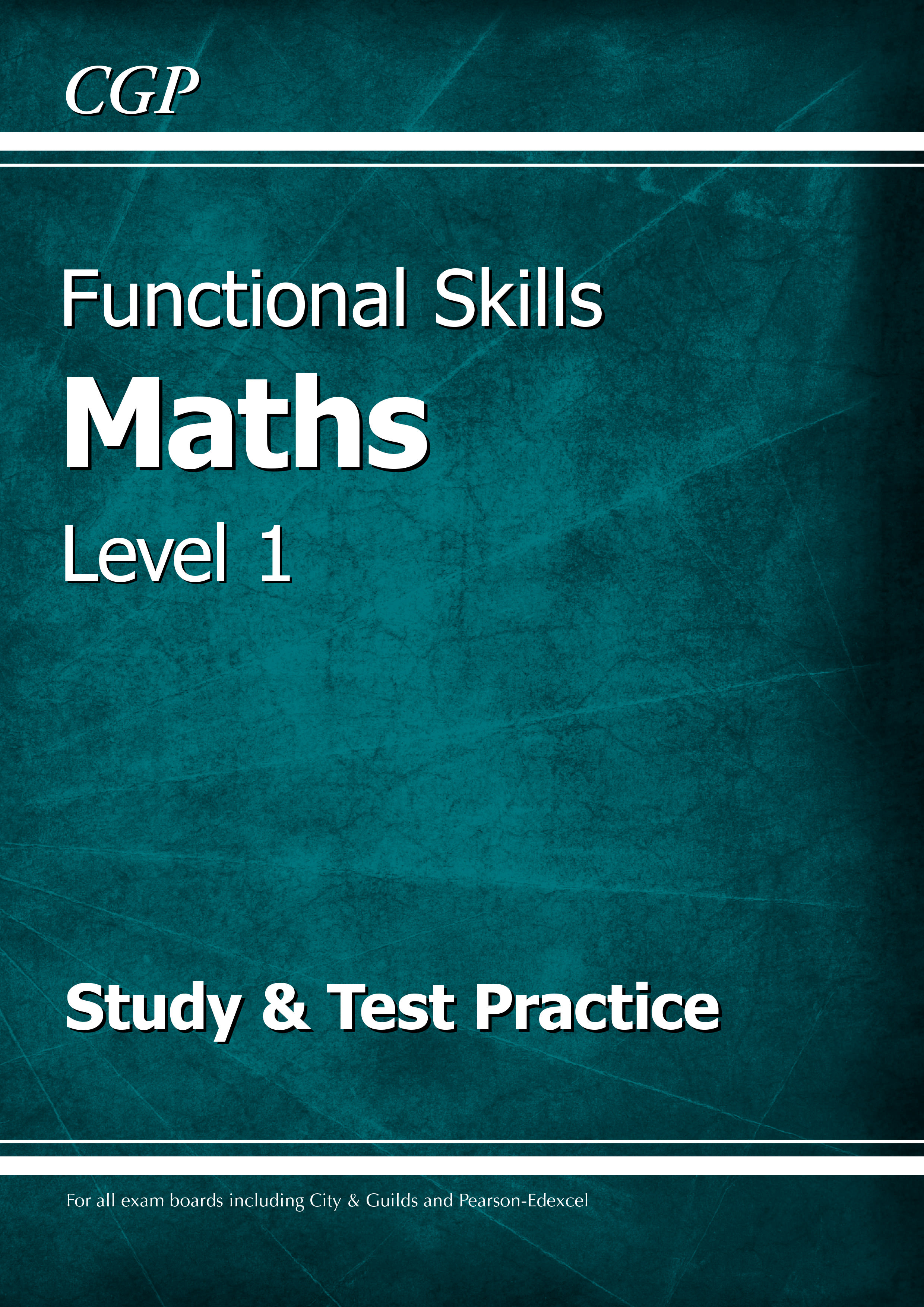 M1SRA2DK - Functional Skills Maths Level 1 - Study & Test Practice
