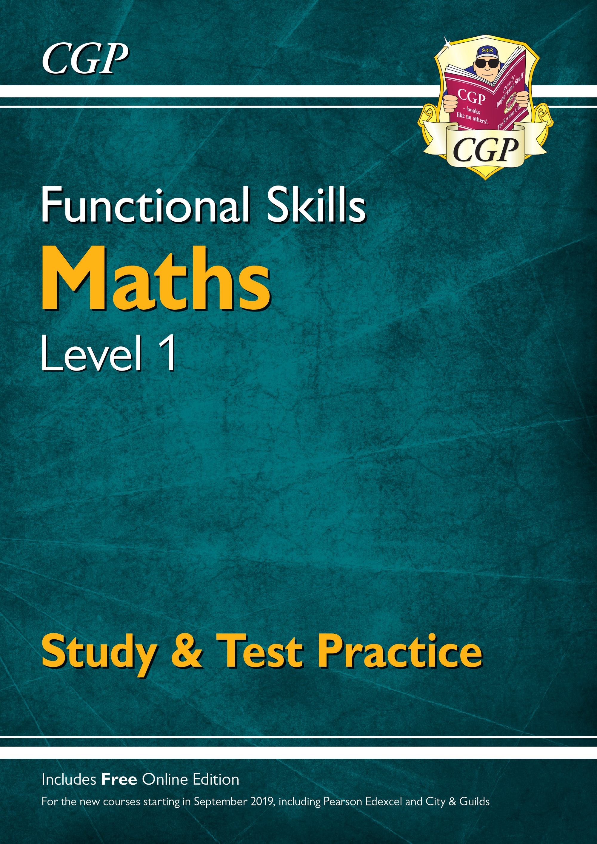 M1SRA3 - New Functional Skills Maths Level 1 - Study & Test Practice (for 2020 & beyond)