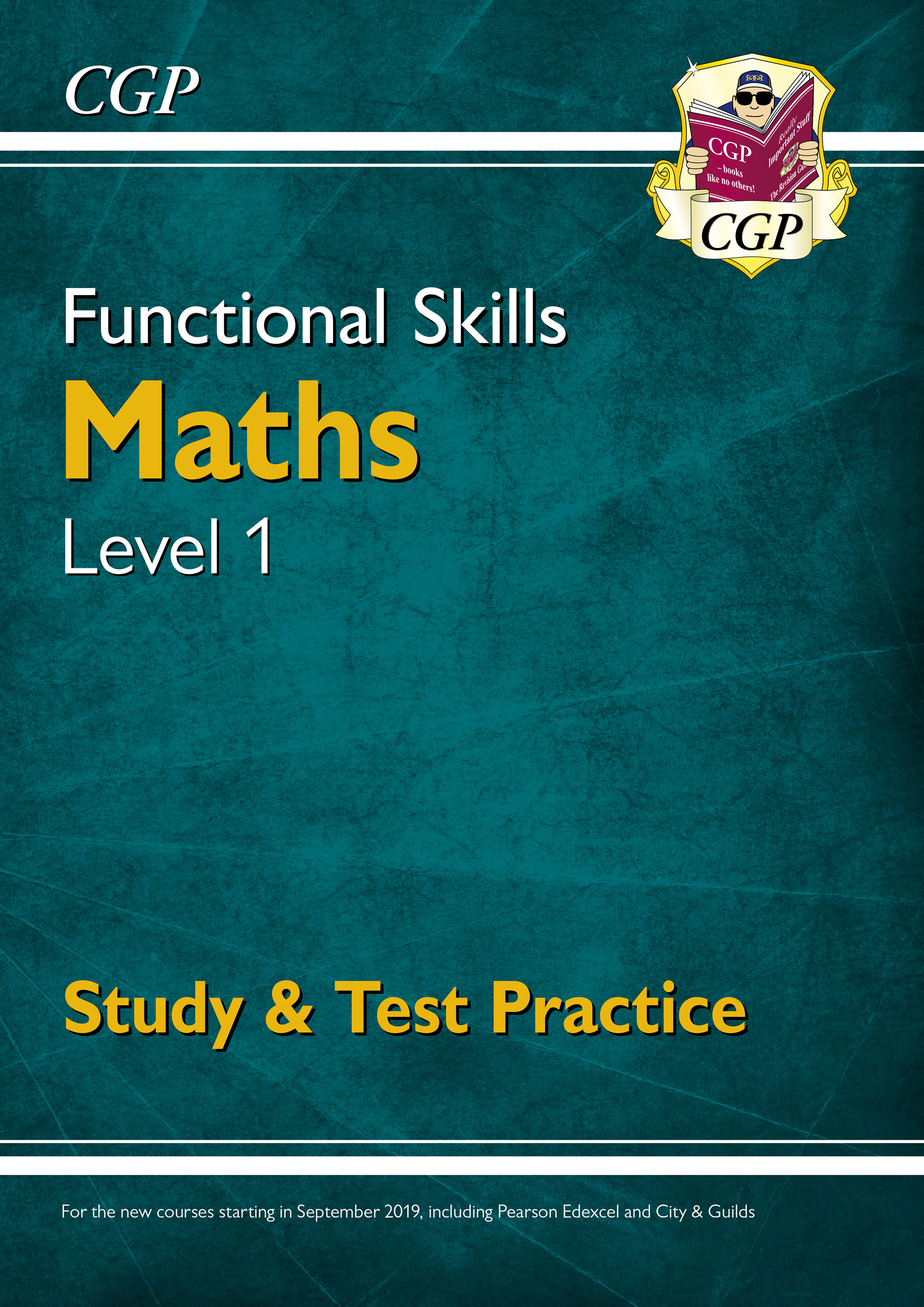 M1SRA3DK - New Functional Skills Maths Level 1 - Study & Test Practice (for 2019 & beyond)