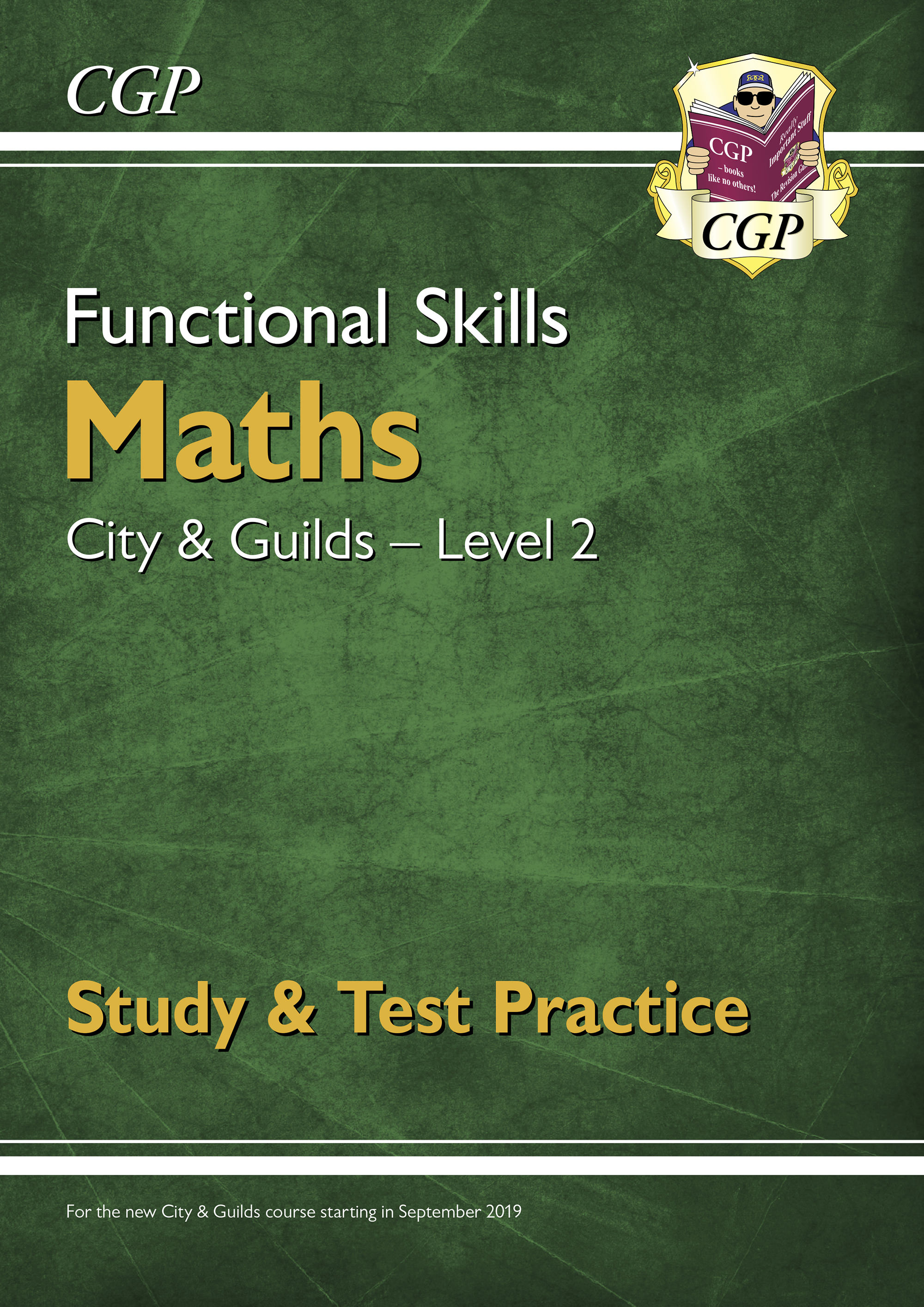 M2CGSRA1D - New Functional Skills Maths: City & Guilds Level 2 -Study & Test Practice (for 2020 & be