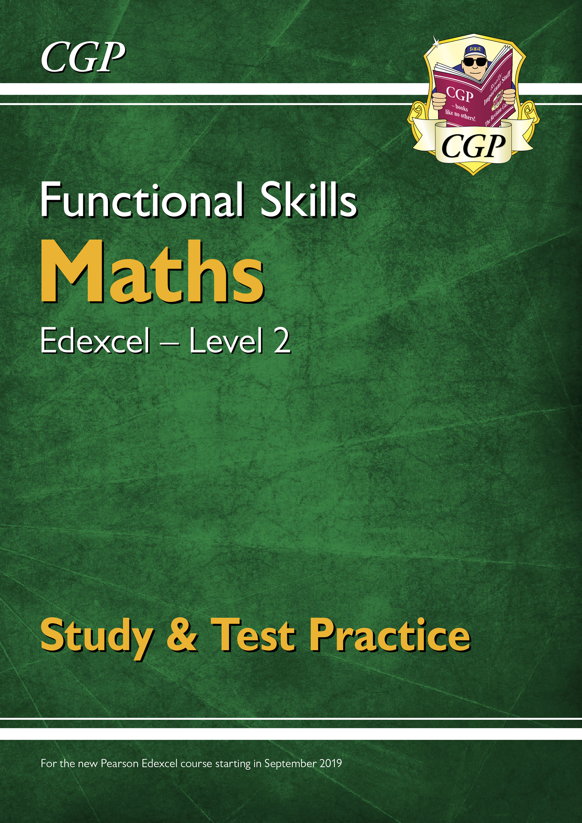 M2ESRA1DK - New Functional Skills Maths: Edexcel Level 2 - Study & Test Practice (for 2020 & beyond)