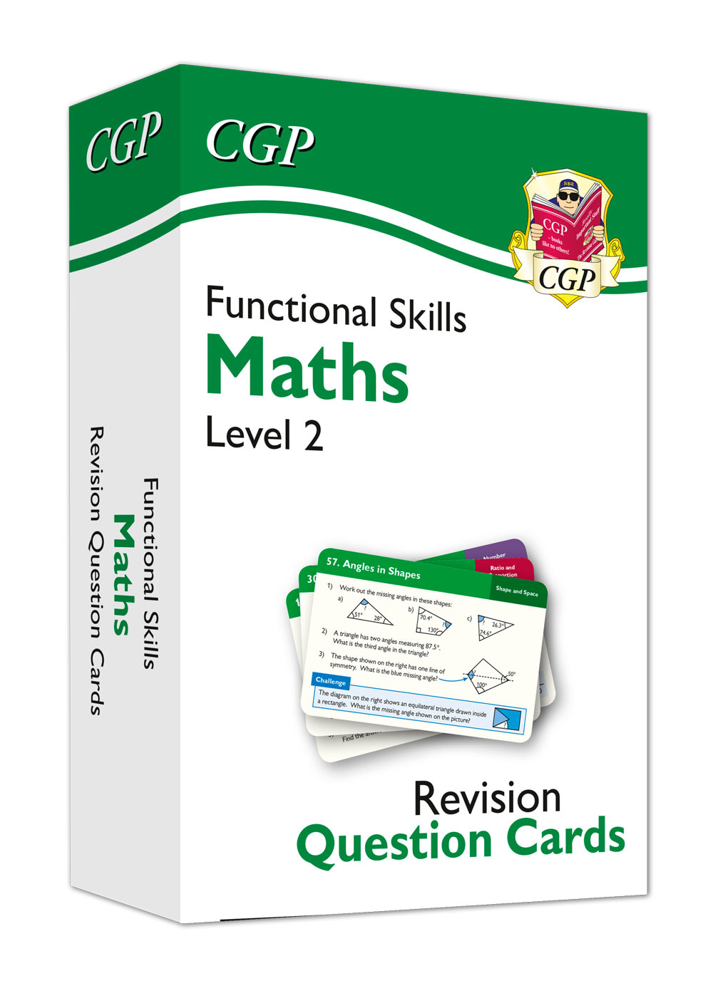 M2NFA1 - New Functional Skills Maths Revision Question Cards - Level 2