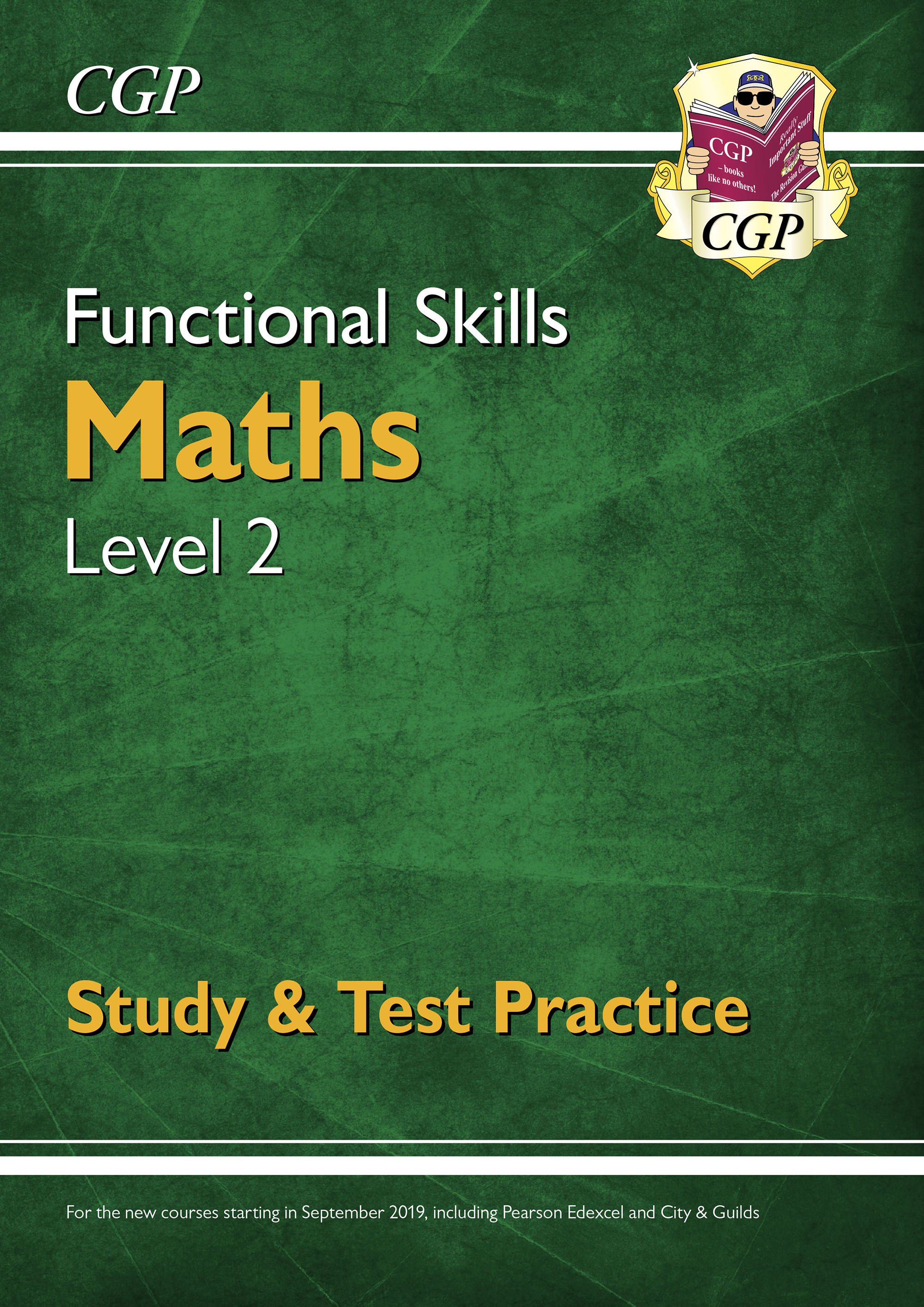 M2SRA3D - New Functional Skills Maths Level 2 - Study & Test Practice (for 2020 & beyond) Online Edi