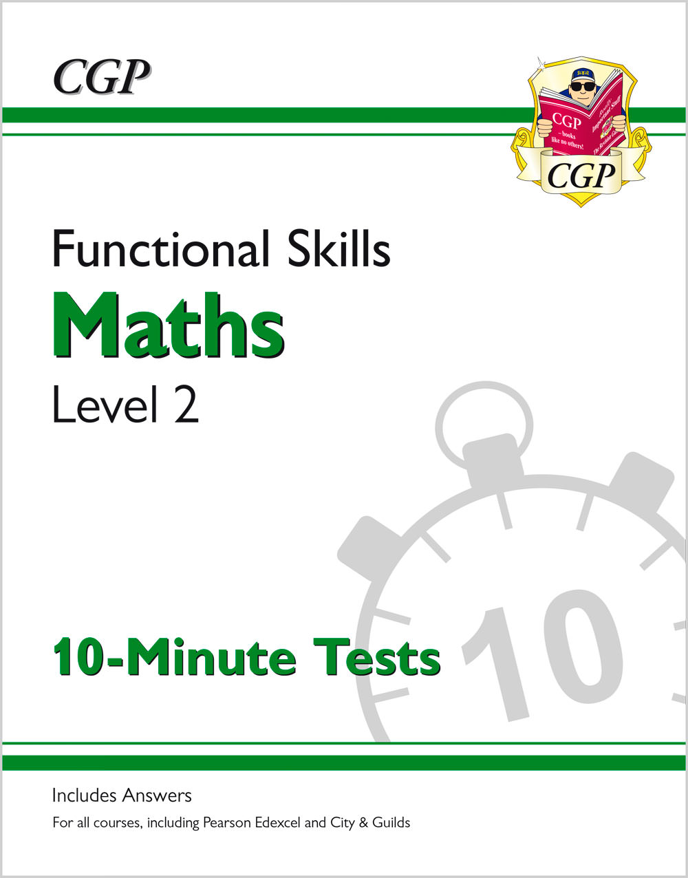 M2XPA1 - New Functional Skills Maths Level 2 - 10 Minute Tests (for 2020 & beyond)