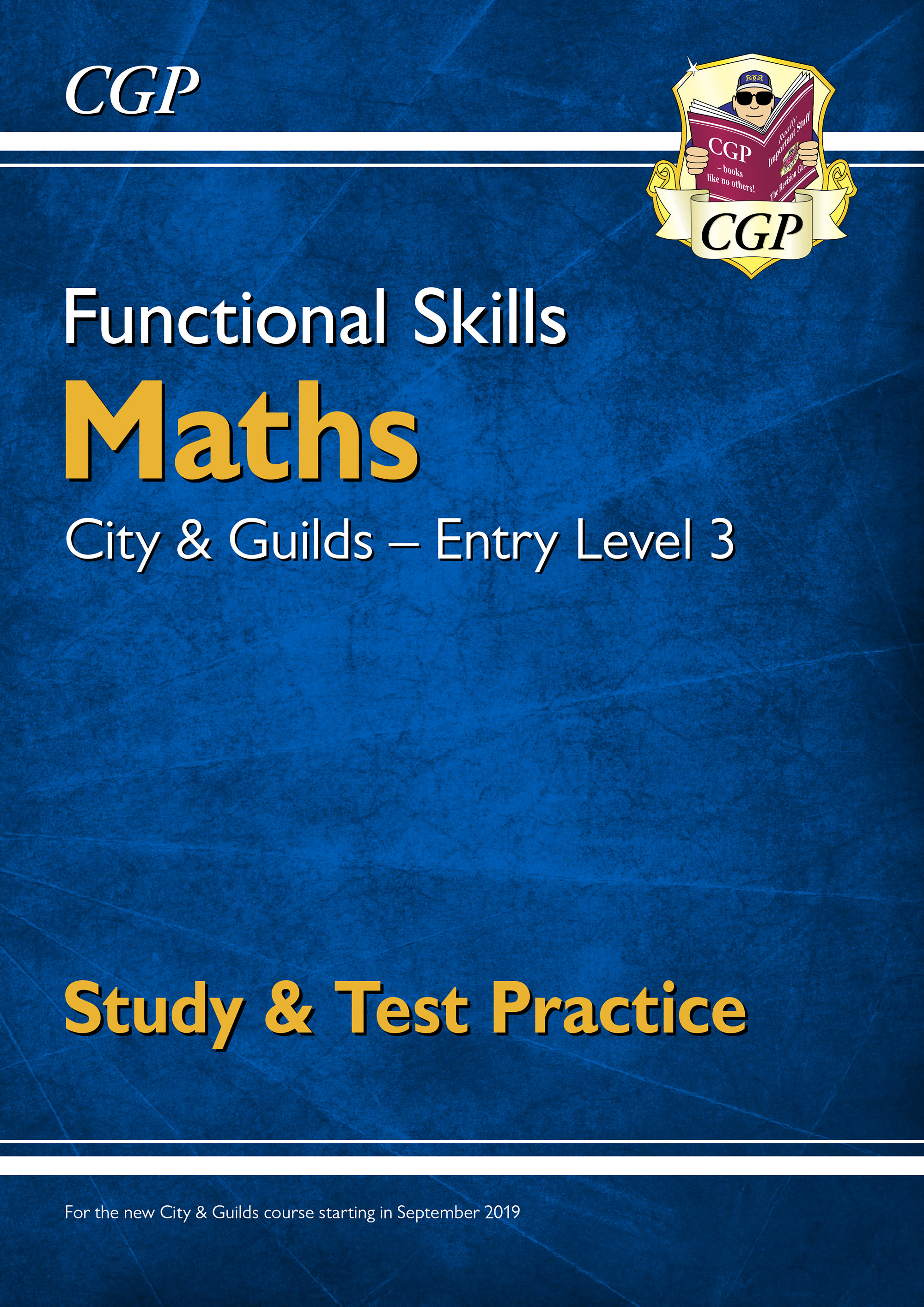 M3CGSRA1DK - Functional Skills Maths: City & Guilds Entry Level 3 - Study & Test Practice (for 2021