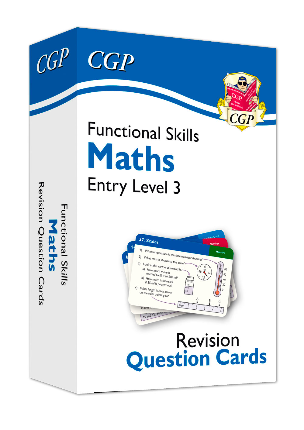 M3NFA1 - New Functional Skills Maths Revision Question Cards - Entry Level 3