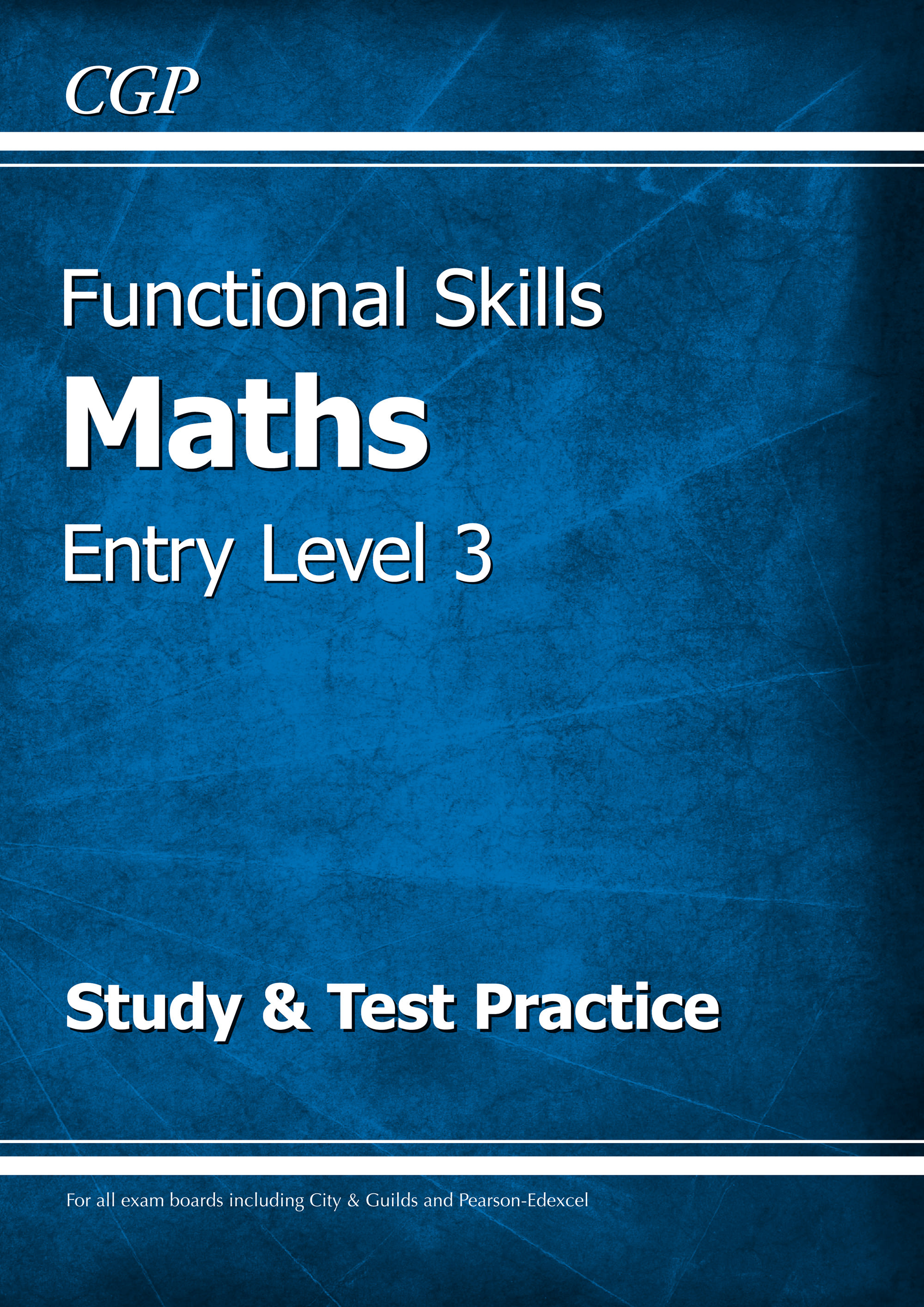 M3SRA2 - Functional Skills Maths Entry Level 3 - Study & Test Practice