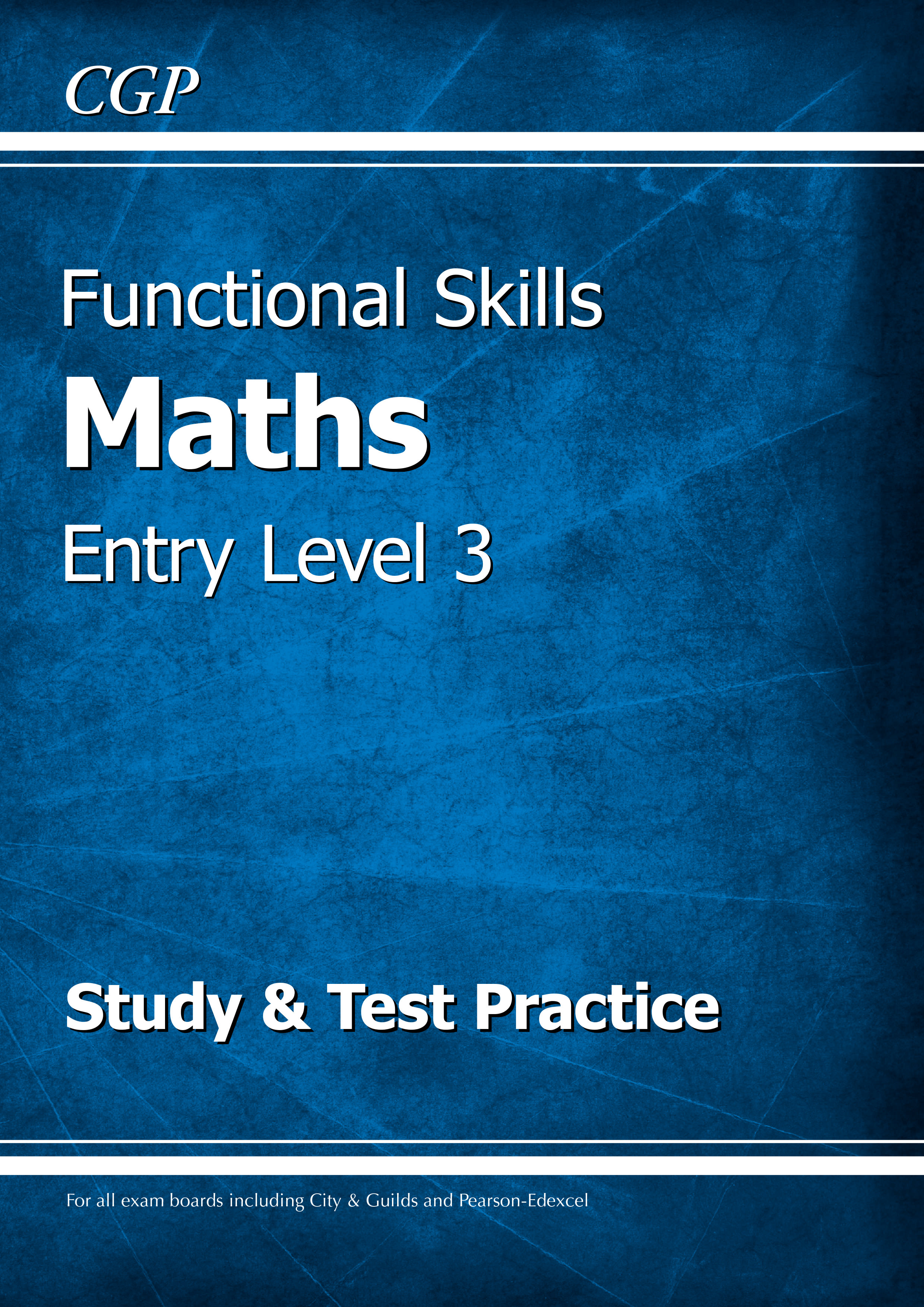 M3SRA2DK - Functional Skills Maths Entry Level 3 - Study & Test Practice