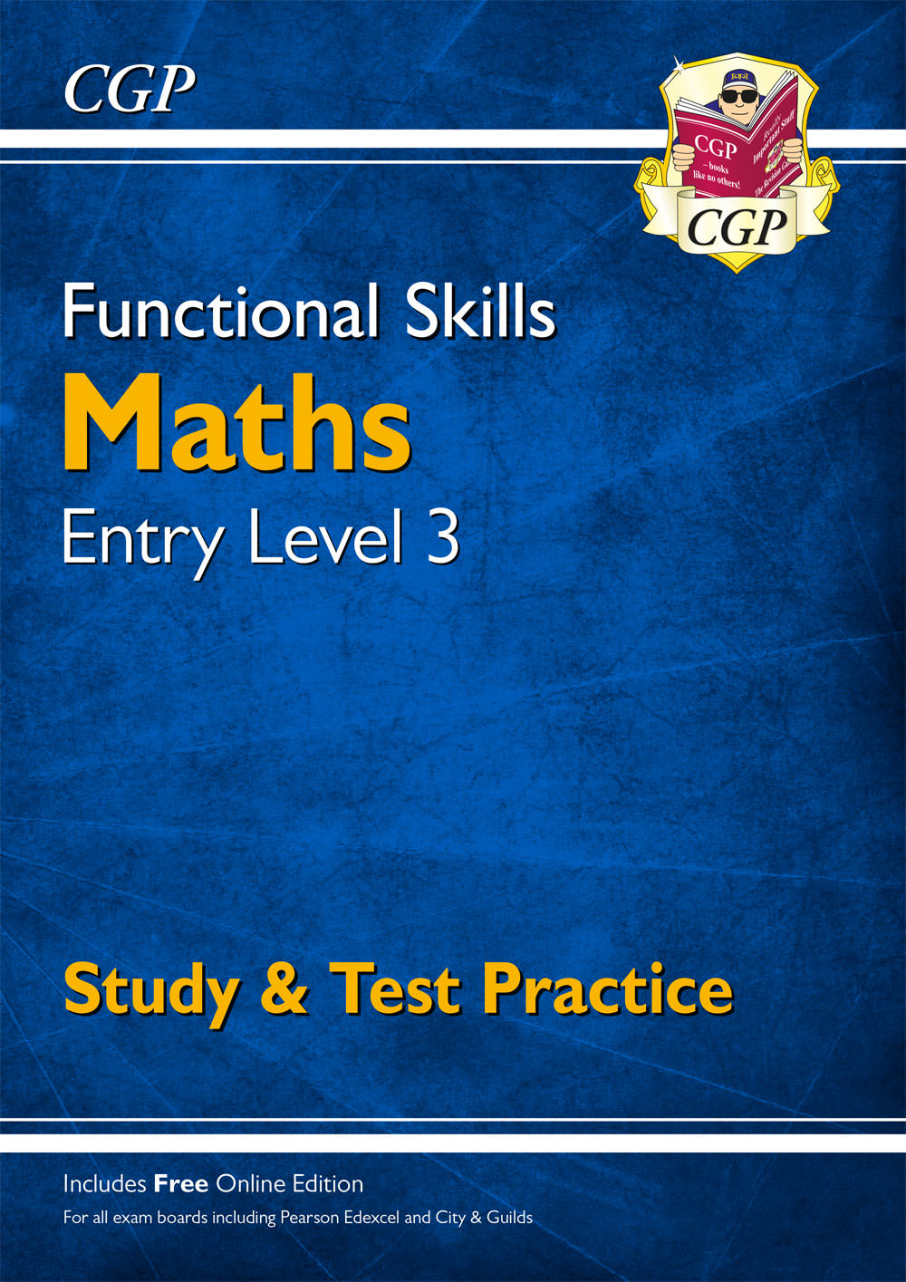 M3SRA3 - New Functional Skills Maths Entry Level 3 - Study & Test Practice (for 2020 & beyond)