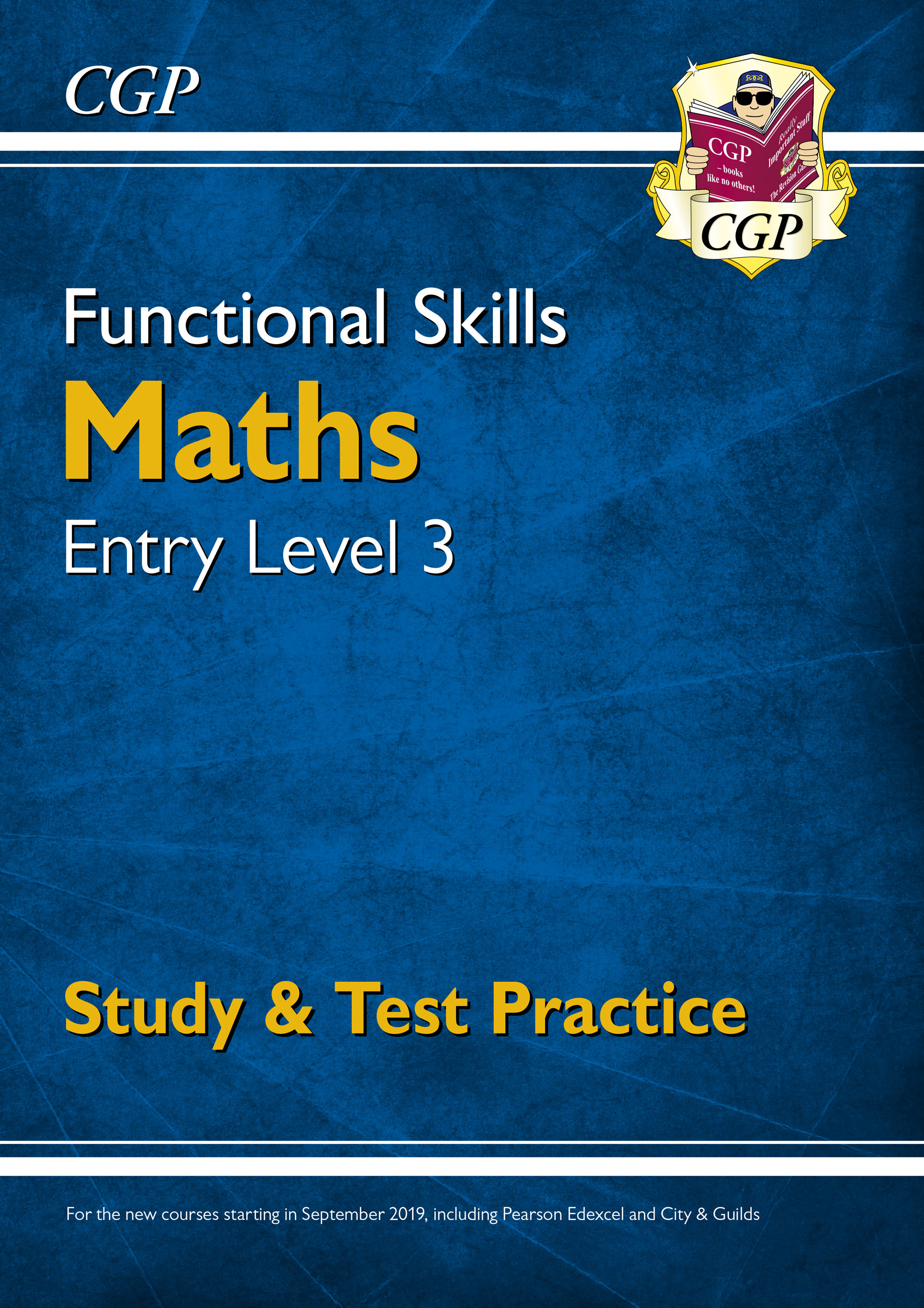 M3SRA3DK - New Functional Skills Maths Entry Level 3 - Study & Test Practice (for 2020 & beyond)