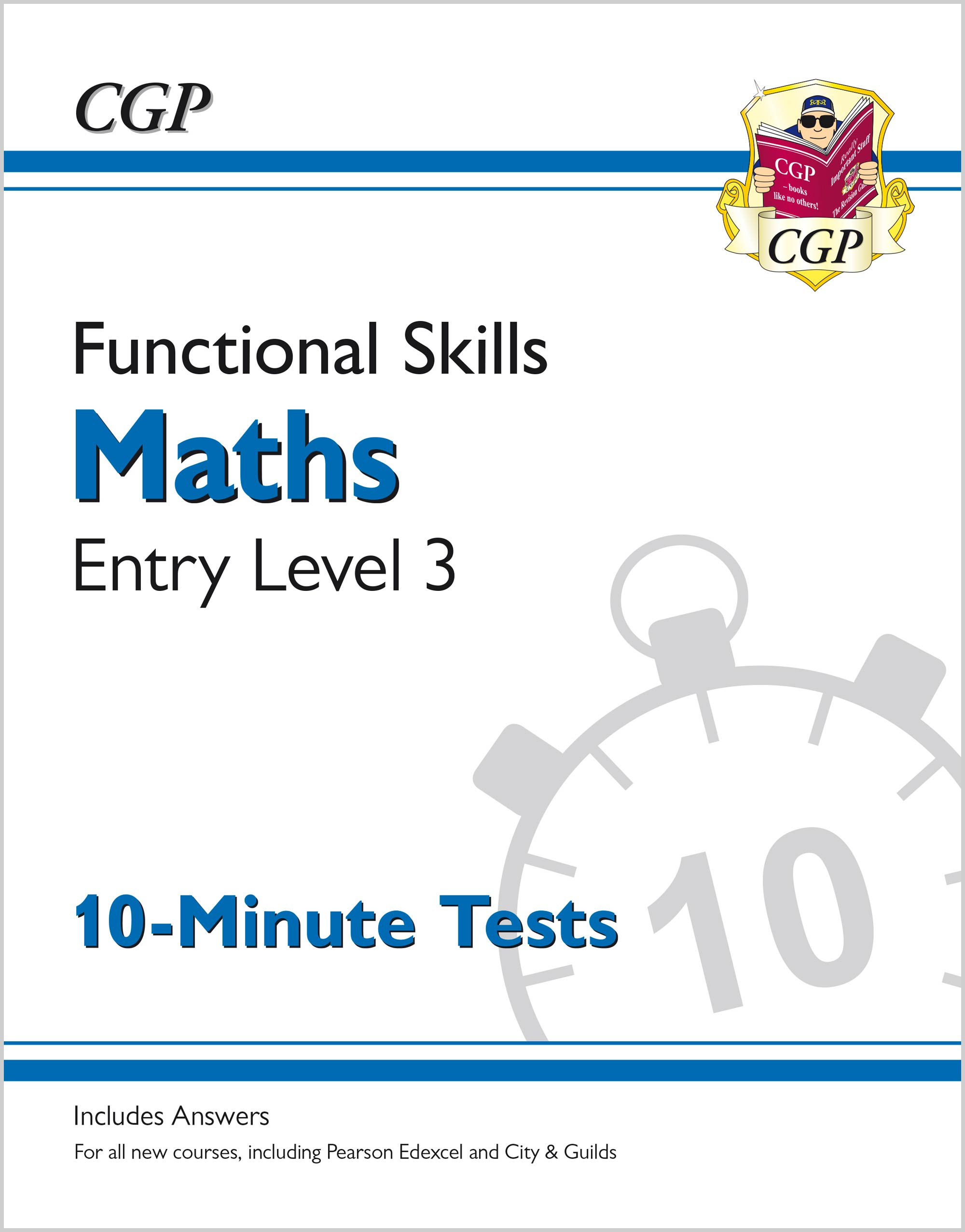 M3XPA1 - New Functional Skills Maths Entry Level 3 - 10 Minute Tests (for 2020 & beyond)