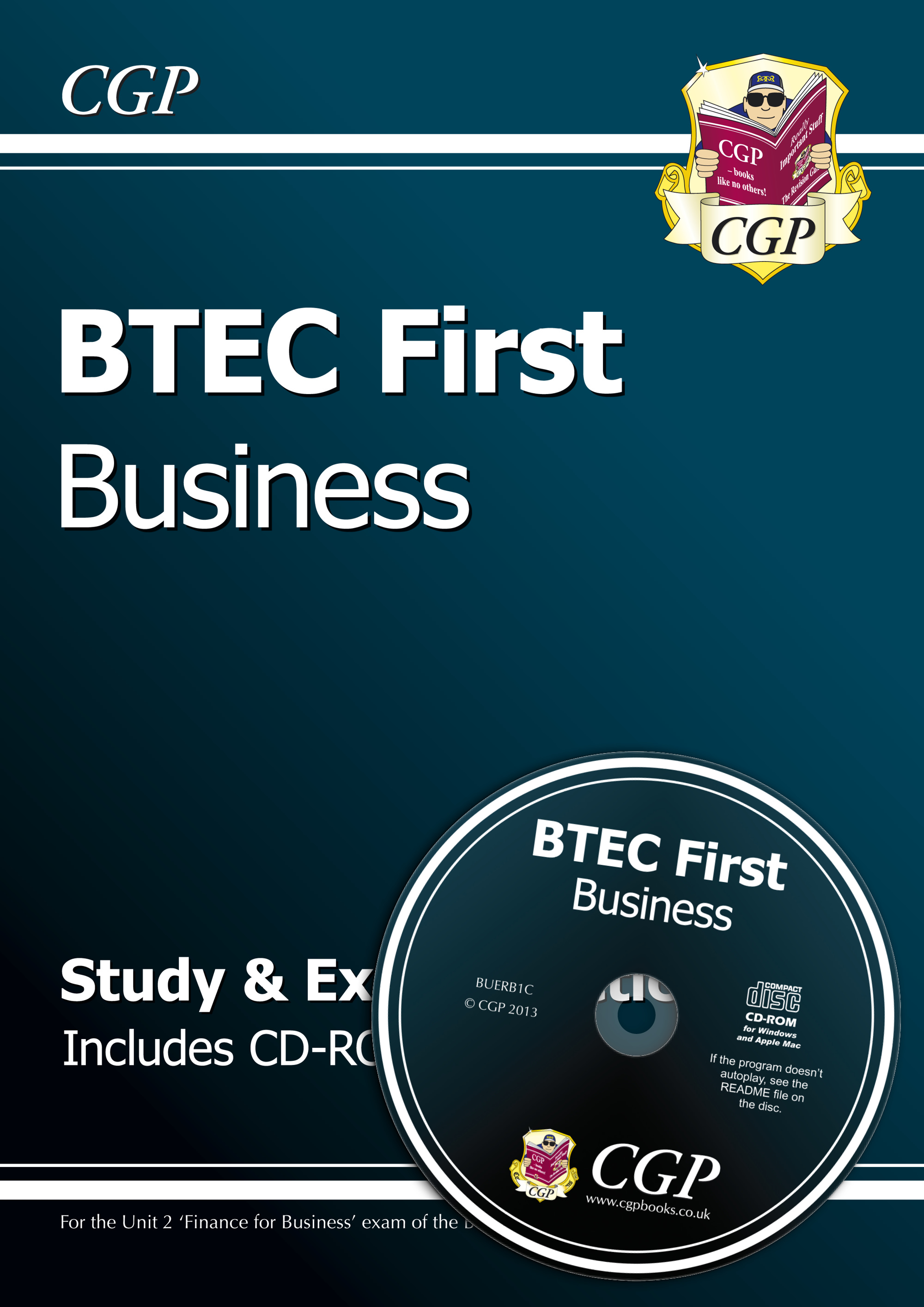 BUERB1 - BTEC First in Business - Study & Exam Practice with CD-ROM