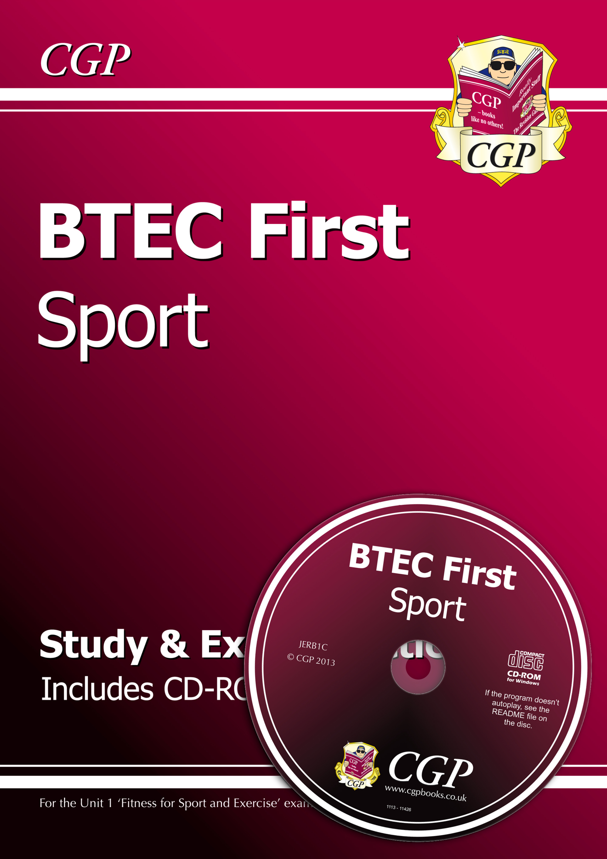 JERB1 - BTEC First in Sport - Study & Exam Practice with CD-ROM