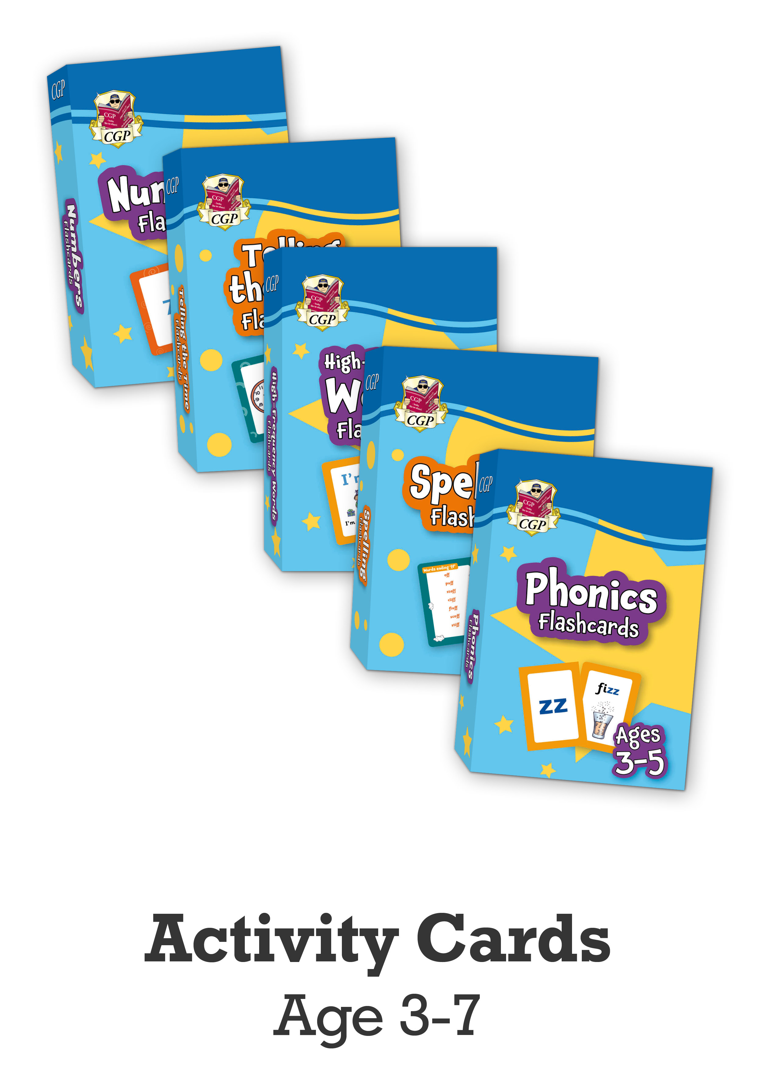 EMPFFB01 - New Fun Primary Flashcards - 5-Pack Bundle