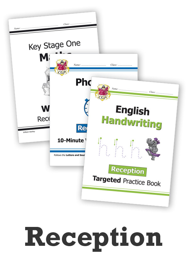 EMRCUB11 - Reception Essentials: Workbook Bundle - Ages 4-5