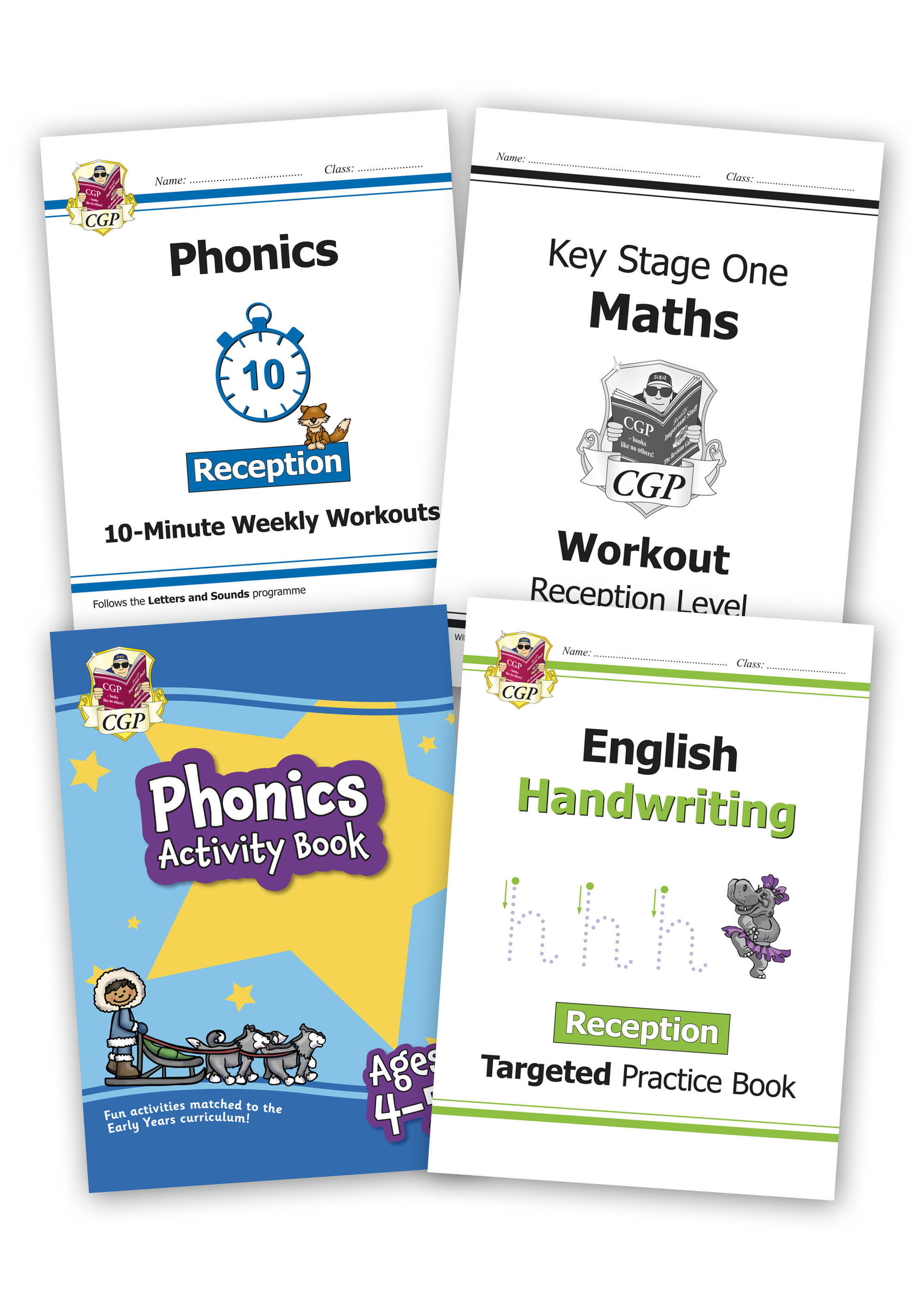 EMRHSB13 - Reception Home Learning Bundle: Maths & English