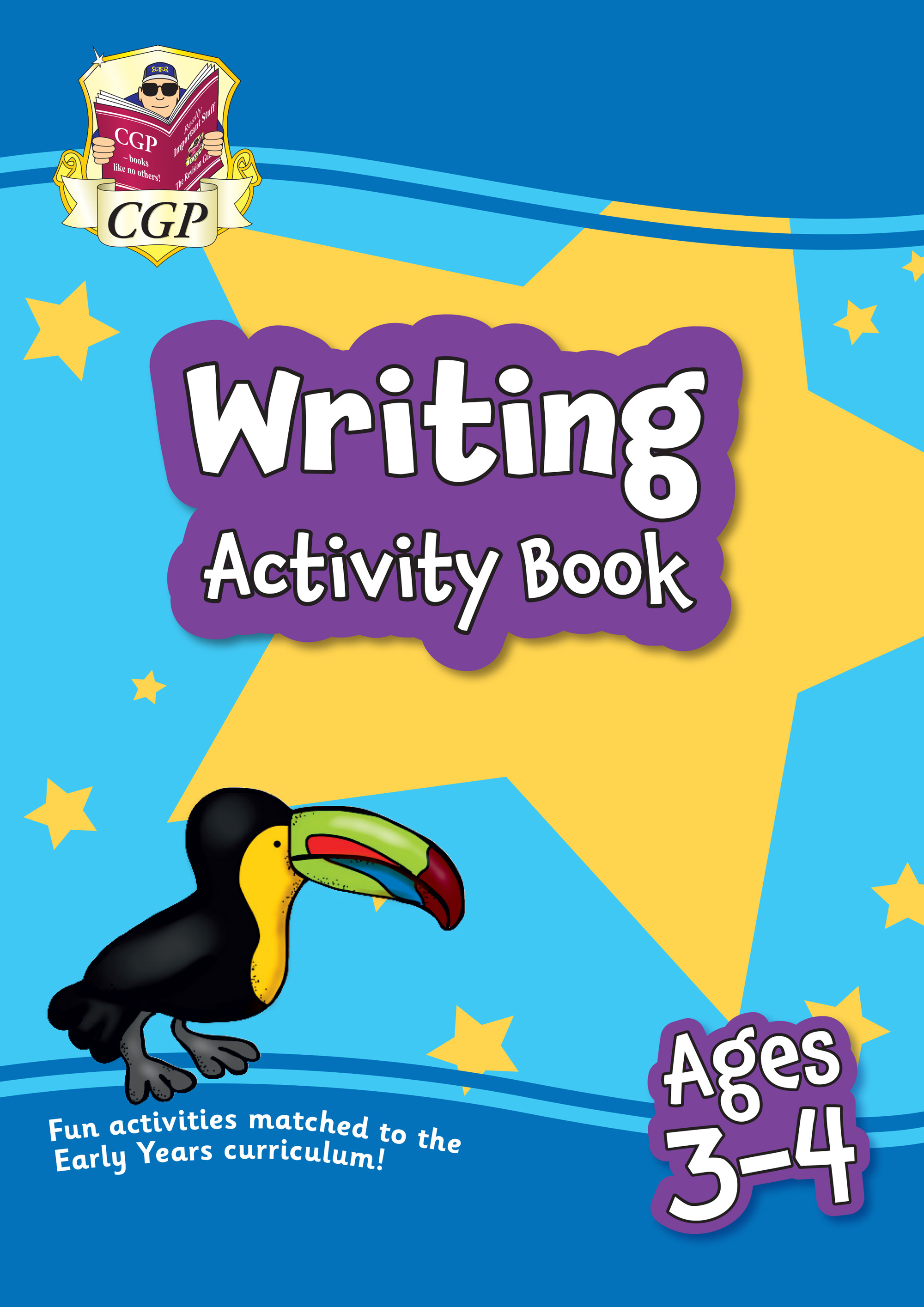 EPFEH01 - New Writing Home Learning Activity Book for Ages 3-4