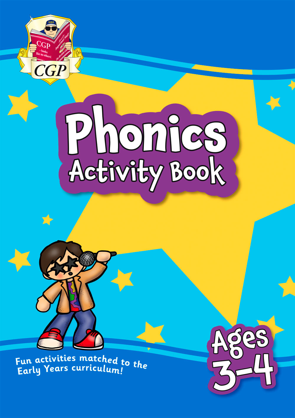 EPFEOQ01 - New Phonics Home Learning Activity Book for Ages 3-4