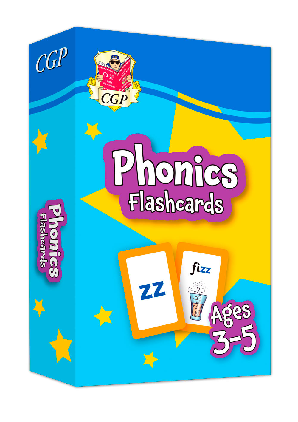 EPFOF01 - New Phonics Home Learning Flashcards for Ages 3-5