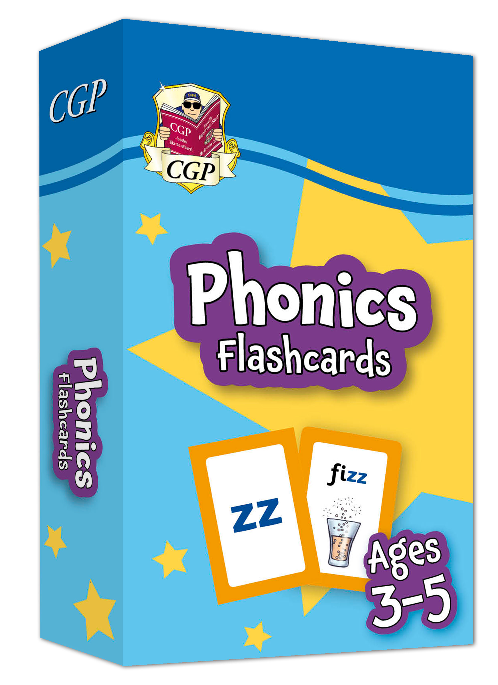EPFOF01DK - New Phonics Home Learning Flashcards for Ages 3-5