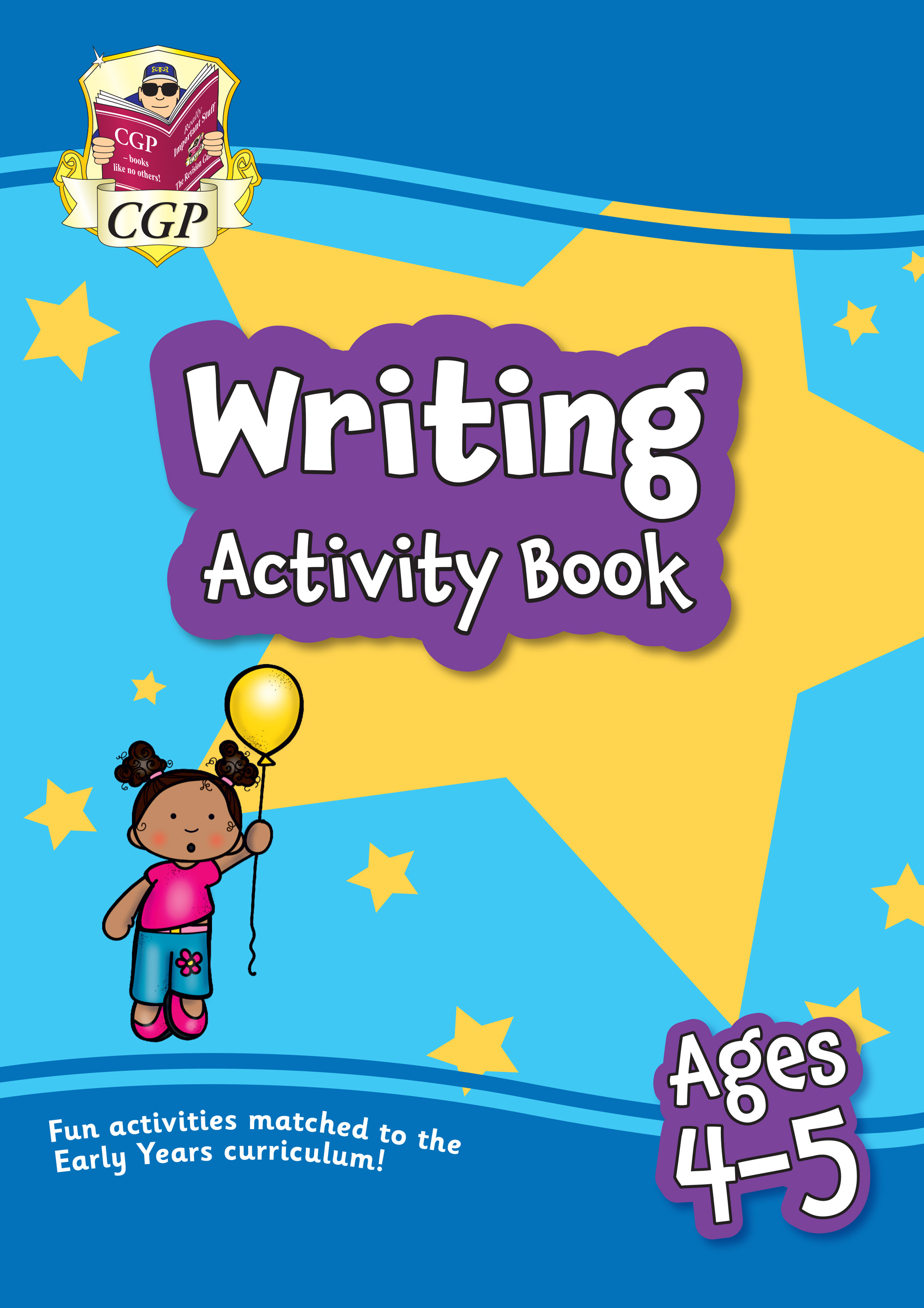 EPFRH01 - New Writing Activity Book for Ages 4-5: perfect for home learning
