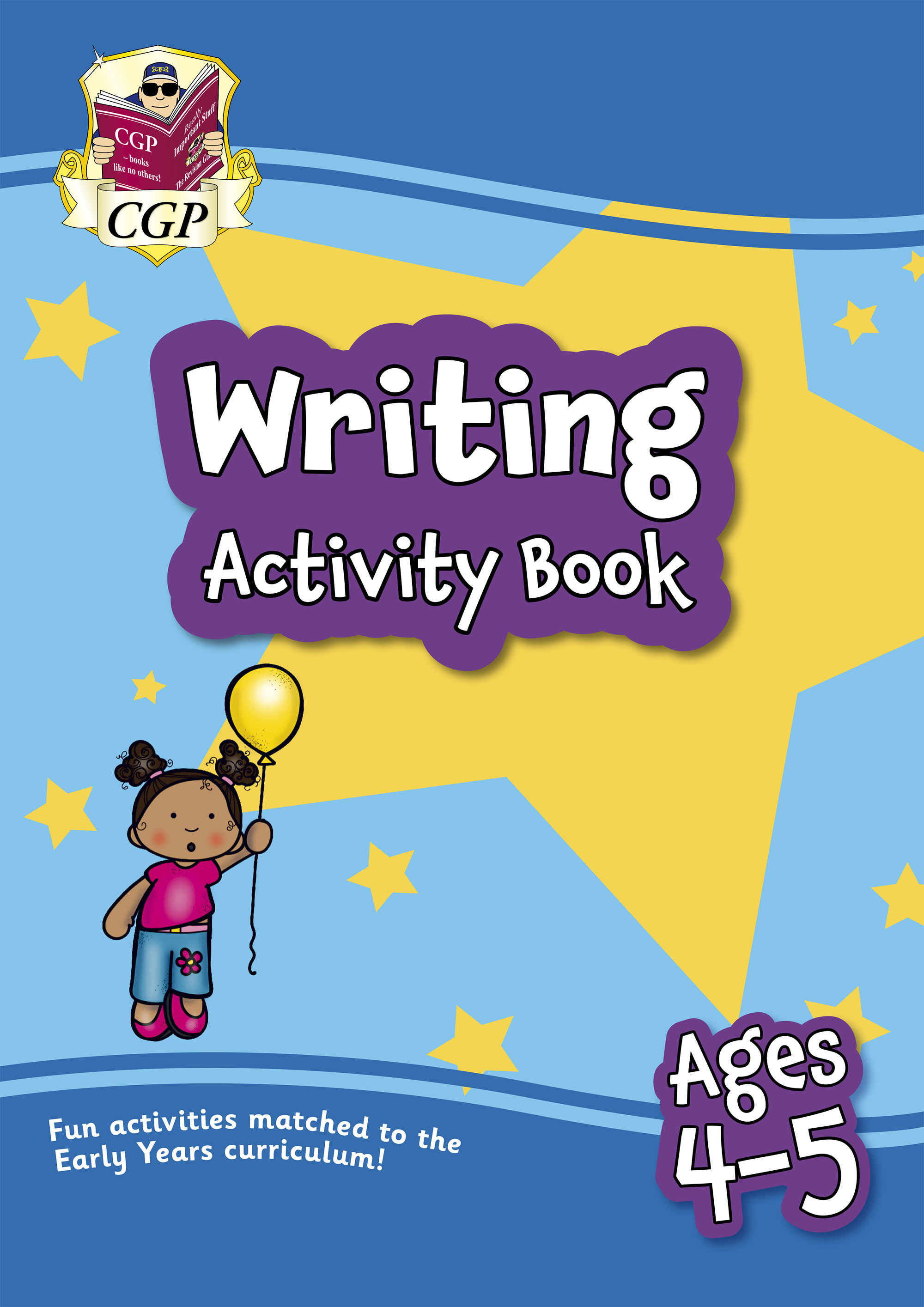 EPFRH01D - New Writing Activity Book for Ages 4-5: Perfect for Catch-Up and Home Learning