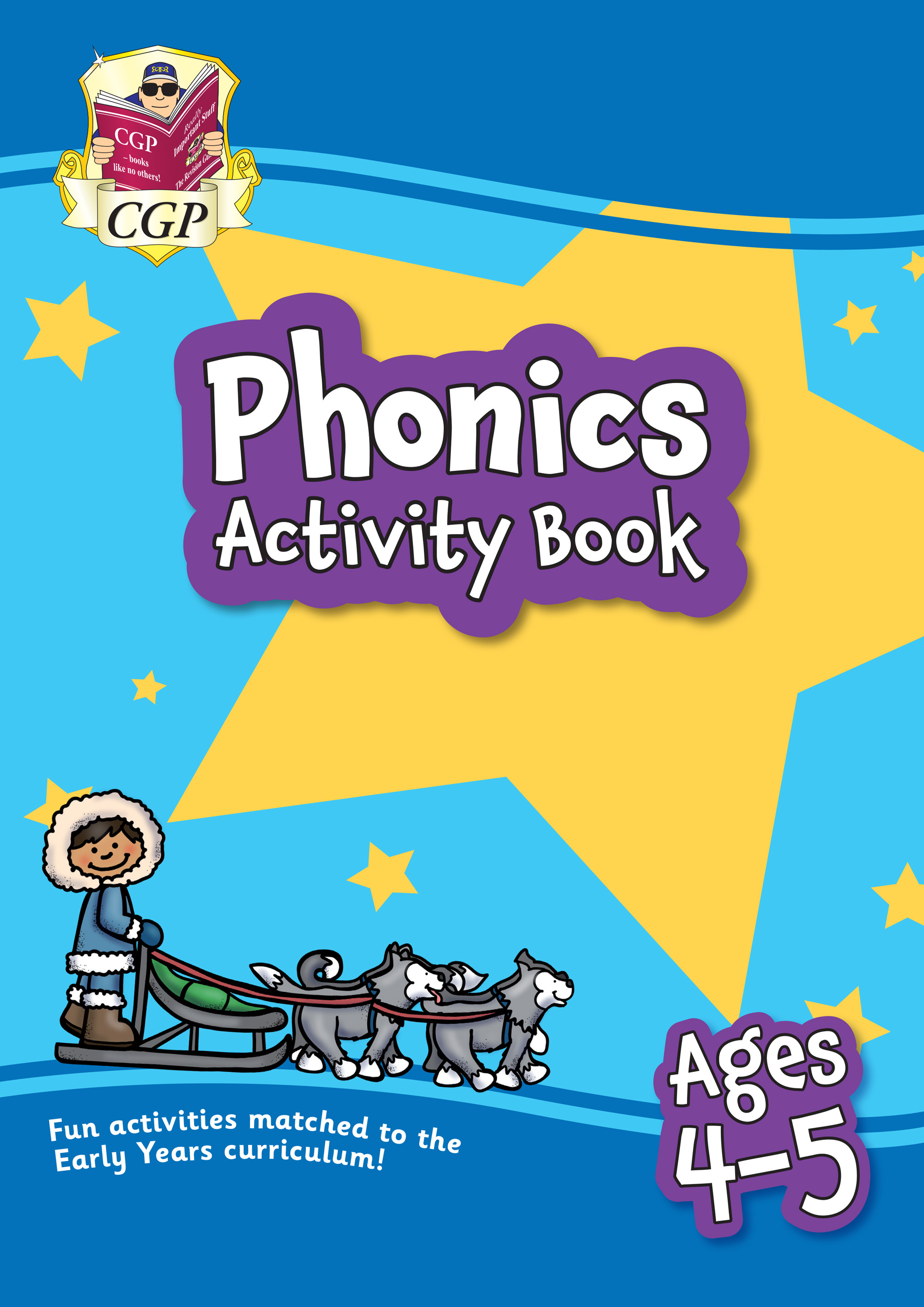 EPFROQ01 - New Phonics Activity Book for Ages 4-5: perfect for home learning
