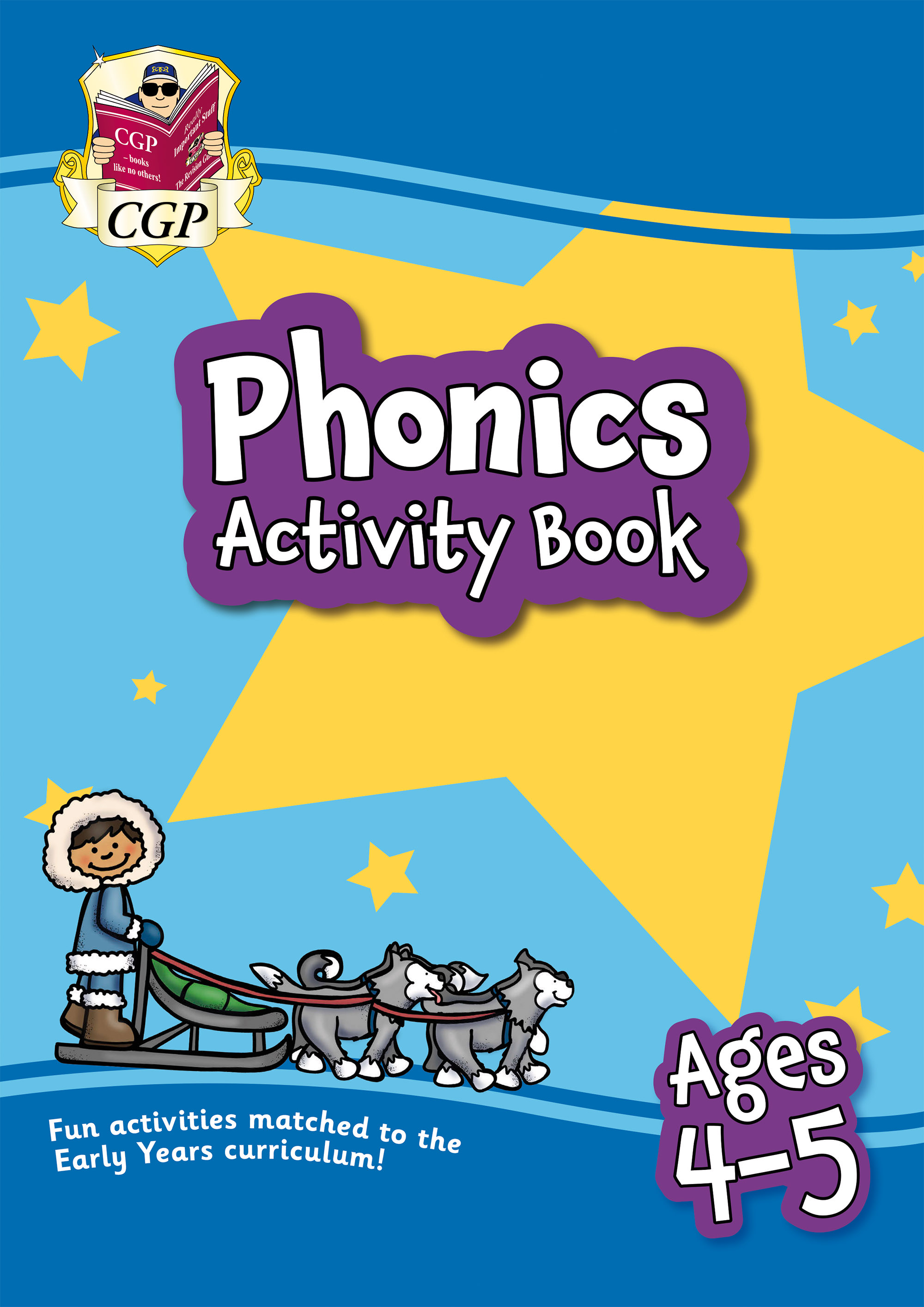 EPFROQ01D - New Phonics Activity Book for Ages 4-5: Perfect for Catch-Up and Home Learning