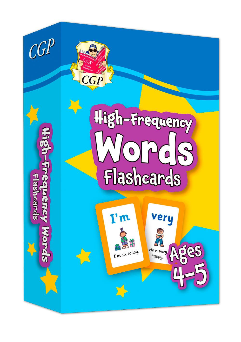 EPFWRF01 - New High-Frequency Words Home Learning Flashcards for Ages 4-5