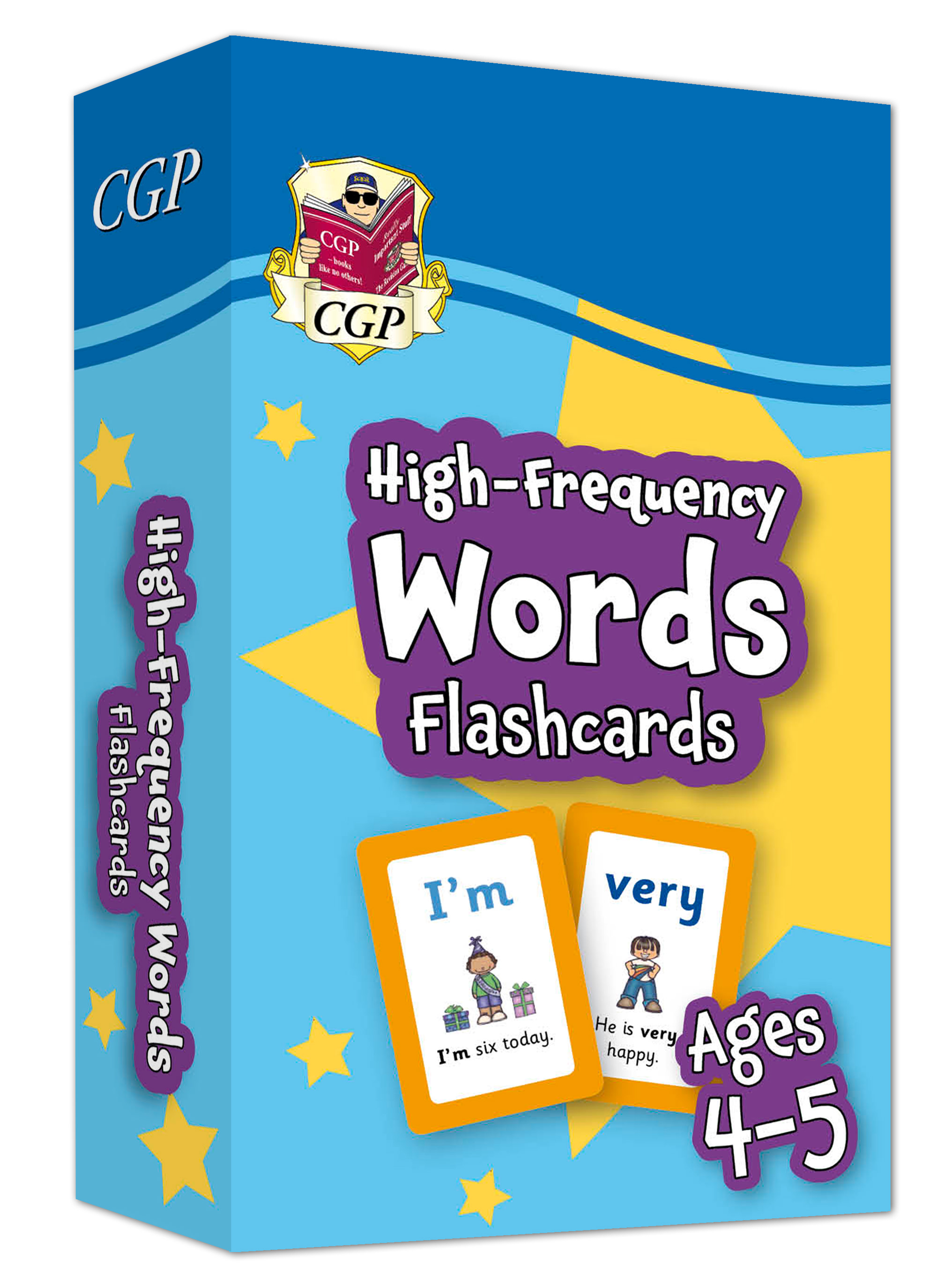 EPFWRF01DK - New High-Frequency Words Home Learning Flashcards for Ages 4-5