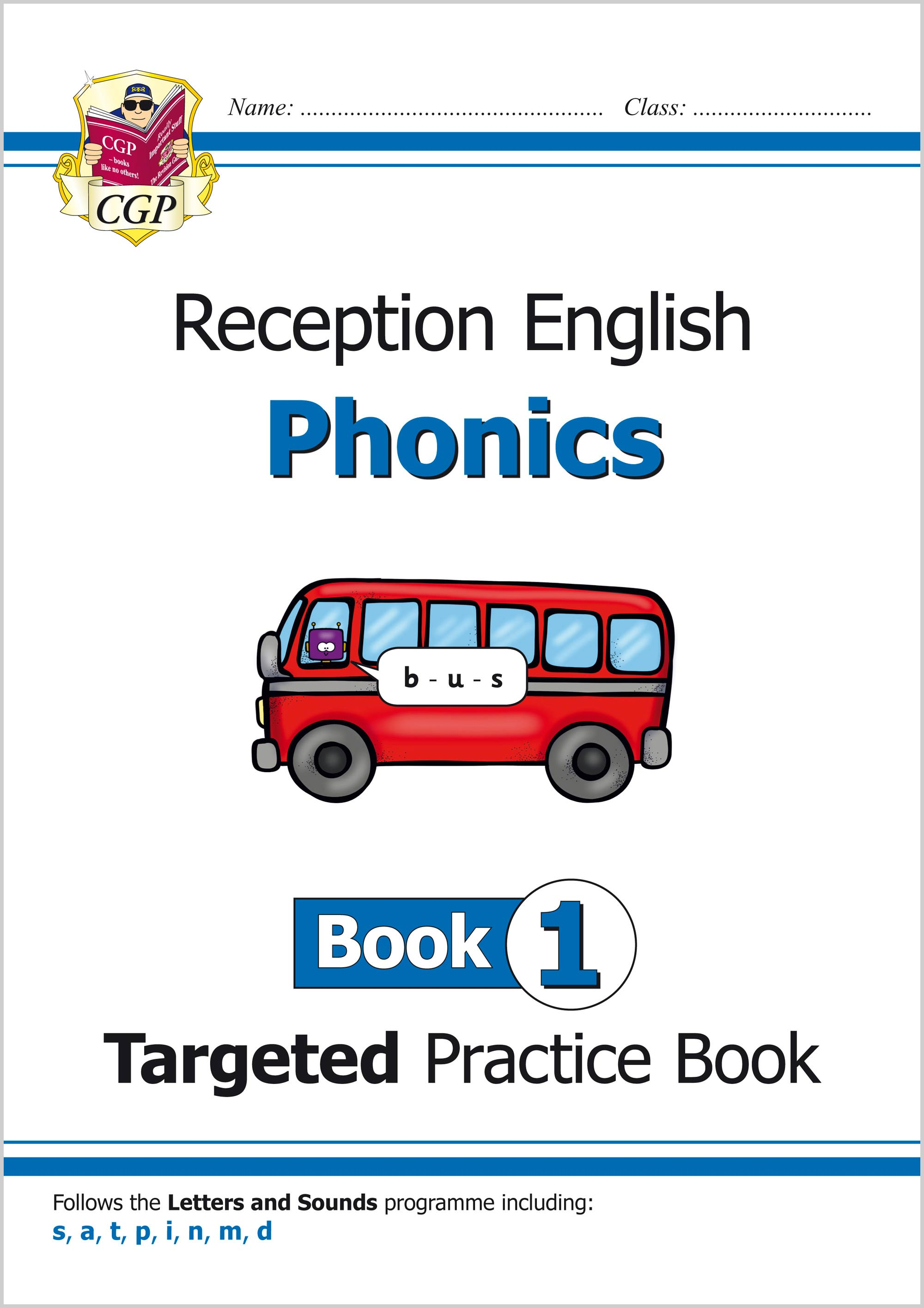 EROW111 - English Targeted Practice Book: Phonics - Reception Book 1