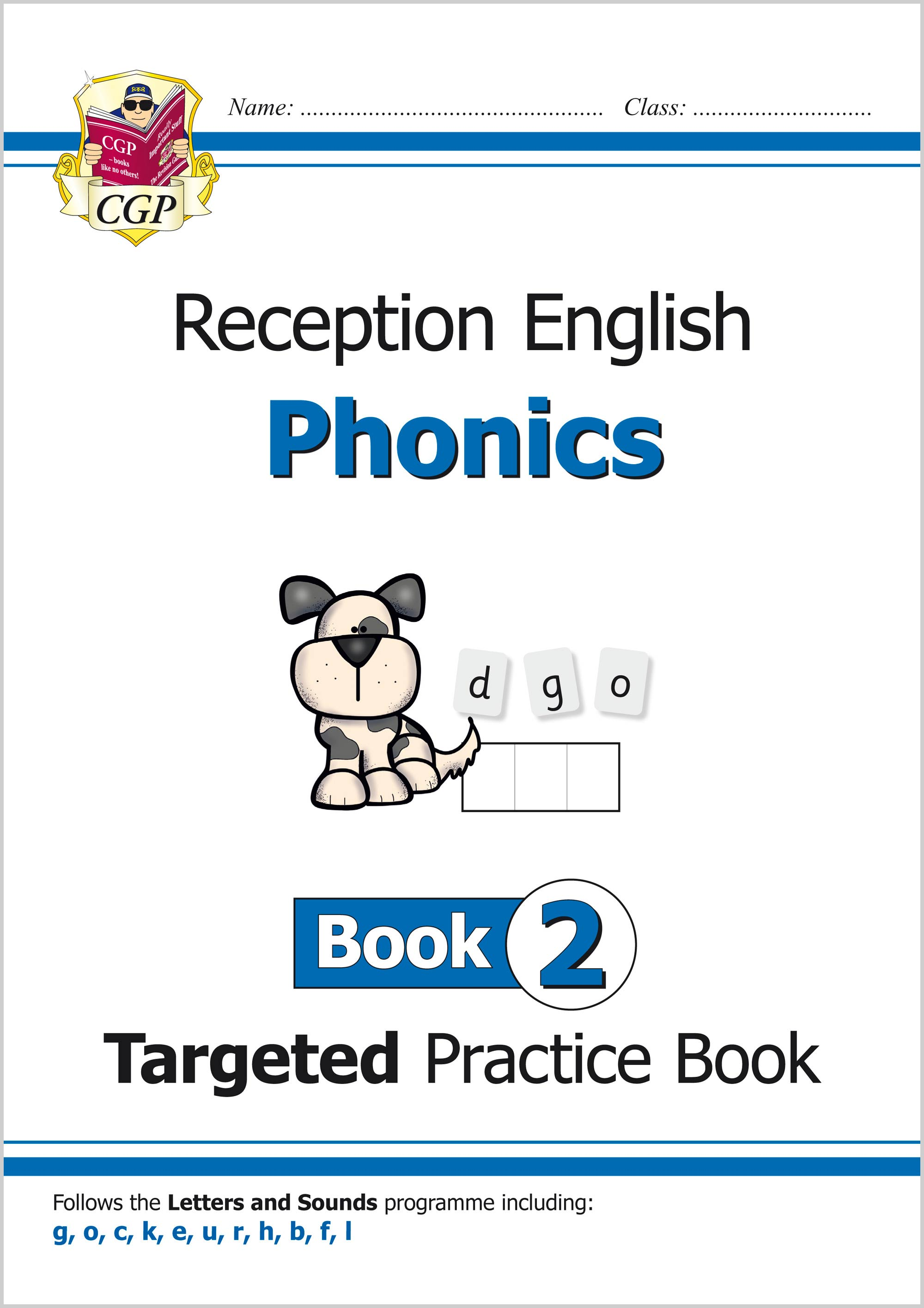 EROW211 - English Targeted Practice Book: Phonics - Reception Book 2